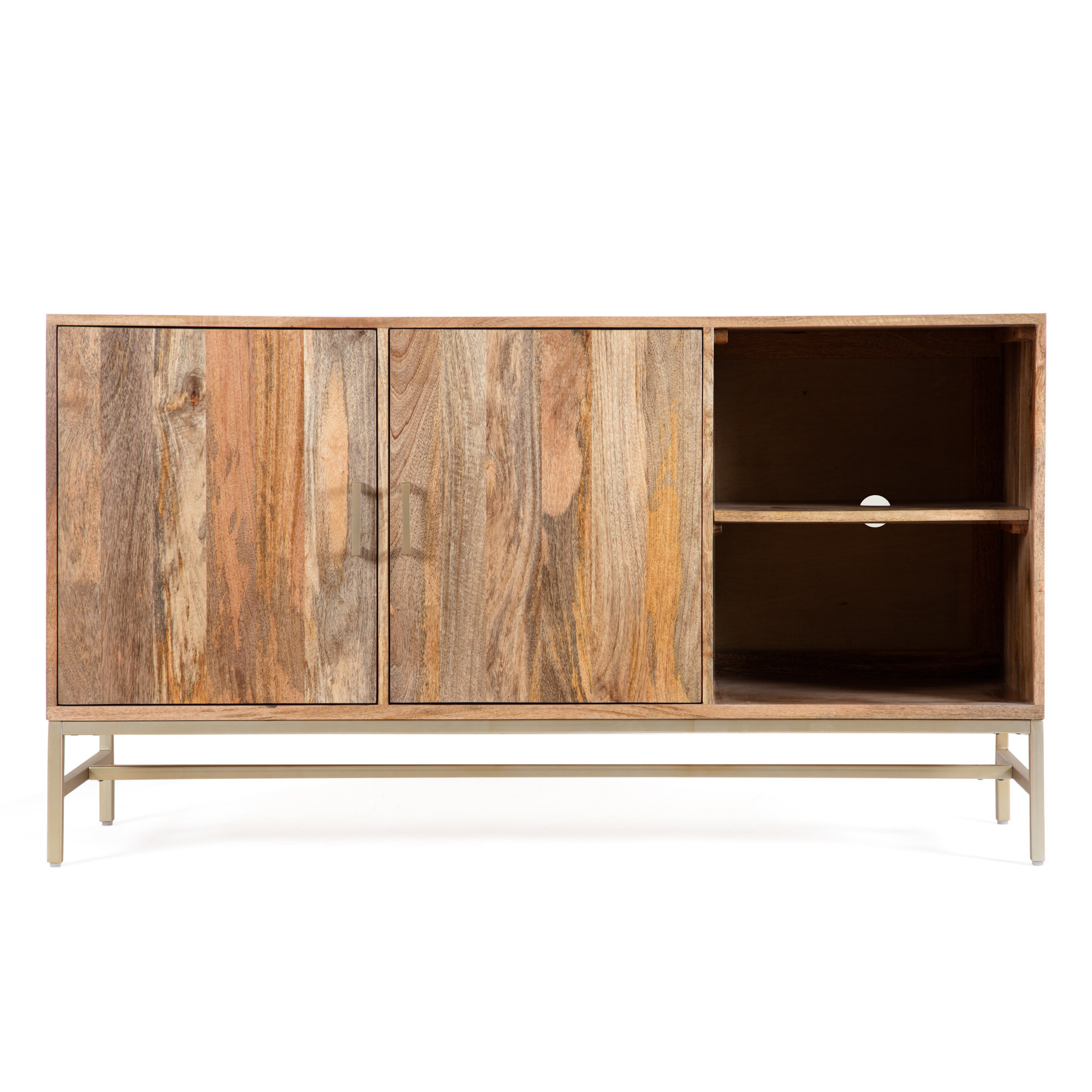 Latest Modern & Contemporary Media Credenza (View 10 of 20)