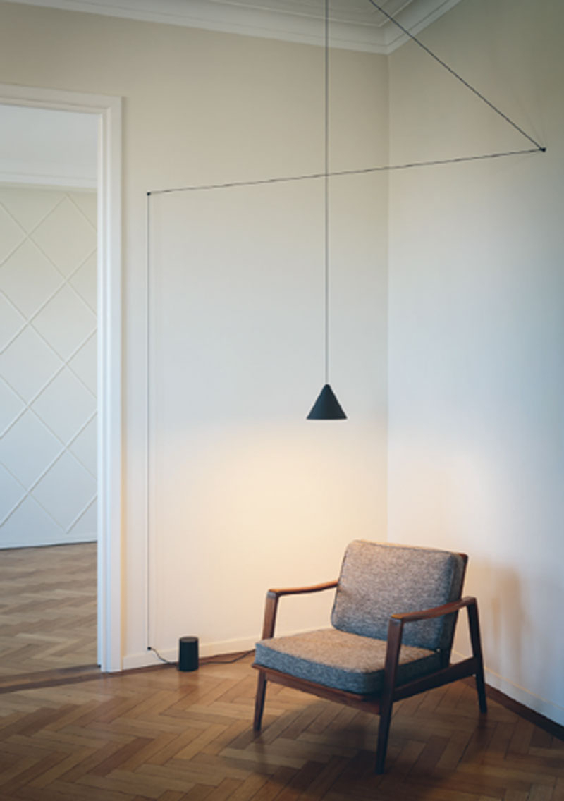 Latest Moris 1 Light Cone Pendants Inside Installation Gallery (View 5 of 20)