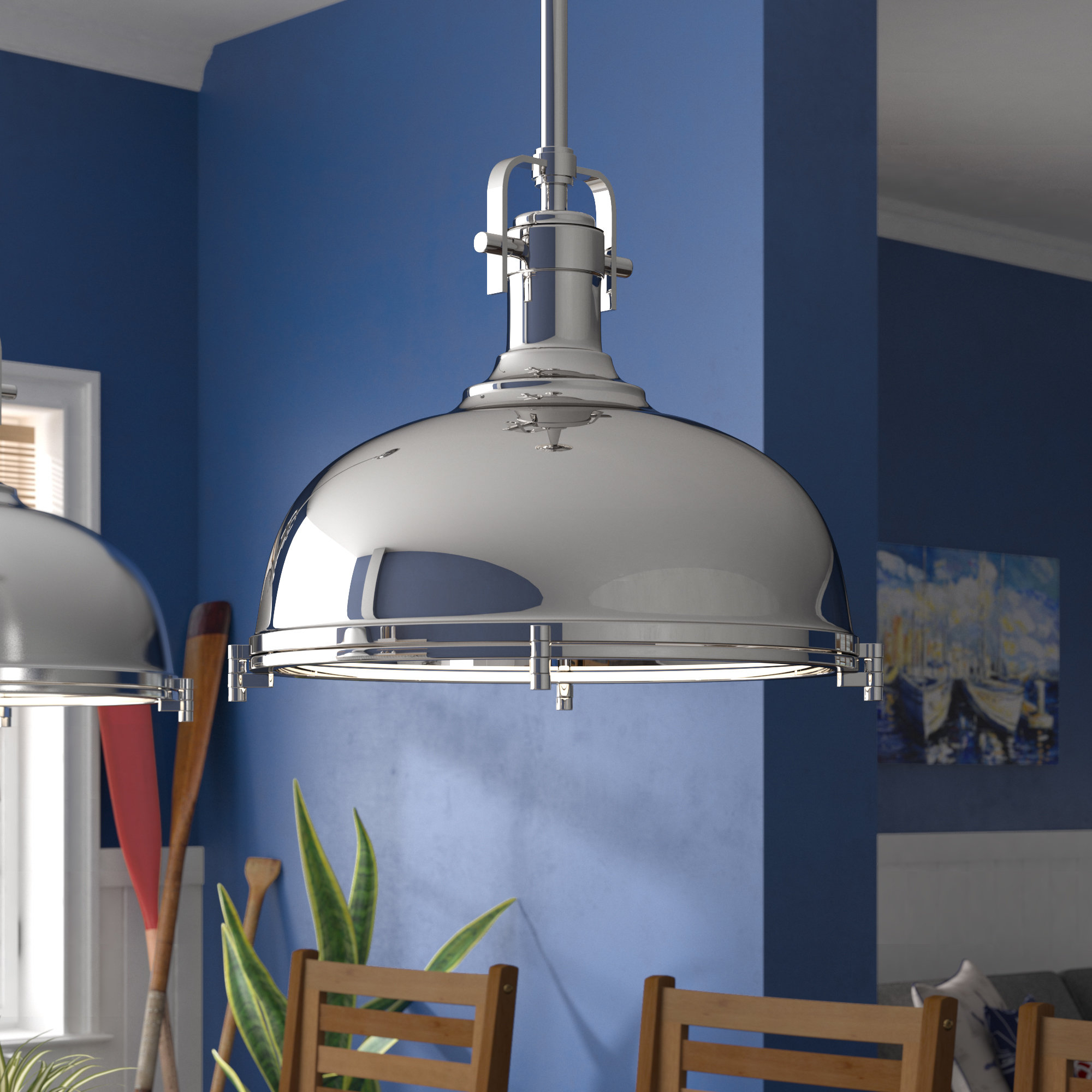 Latest Proctor 1 Light Bowl Pendants With Lighthouse Point 1 Light Bowl Pendant (View 3 of 20)