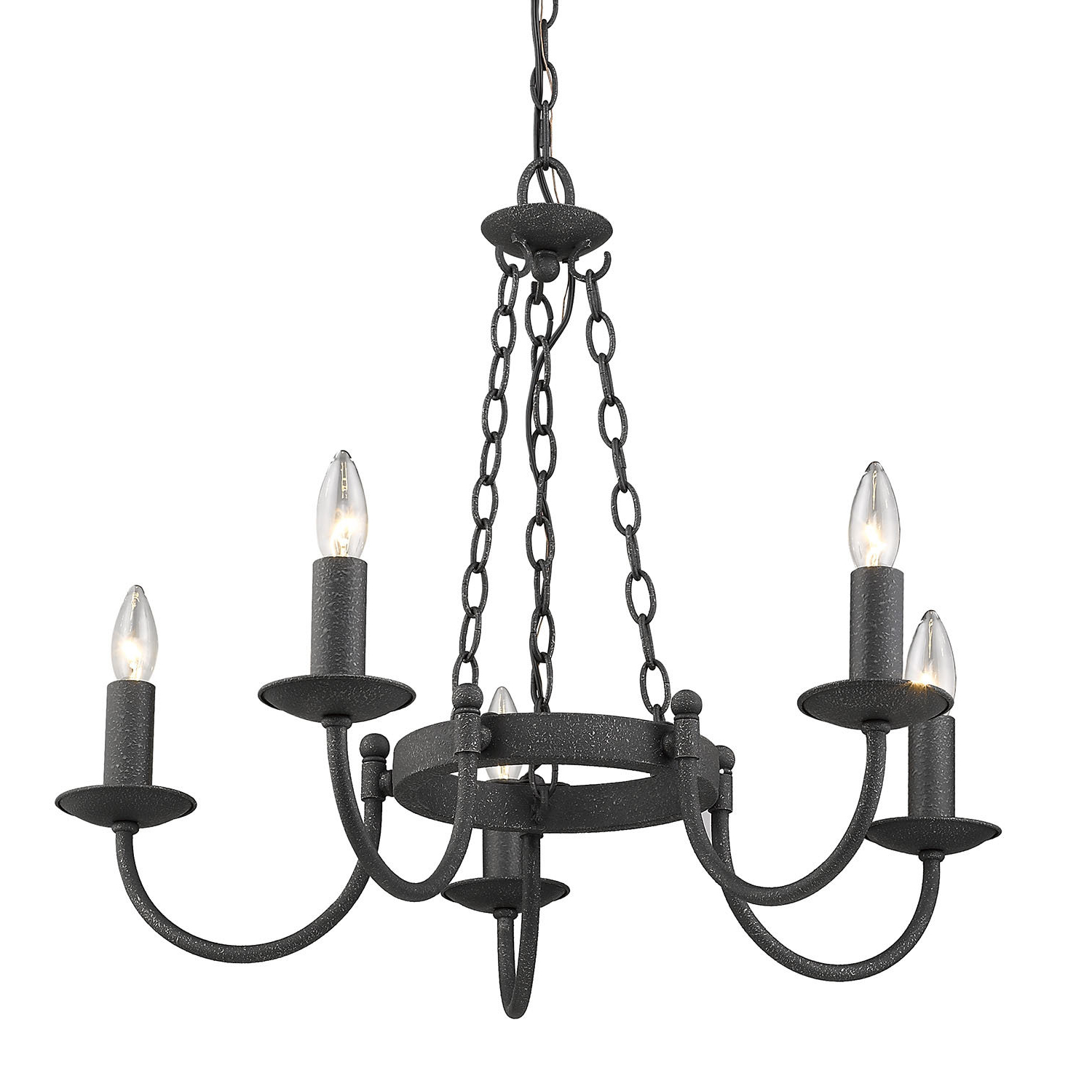 Latest Shaylee 5 Light Candle Style Chandeliers With Regard To Barcroft 5 Light Candle Style Chandelier (View 3 of 20)