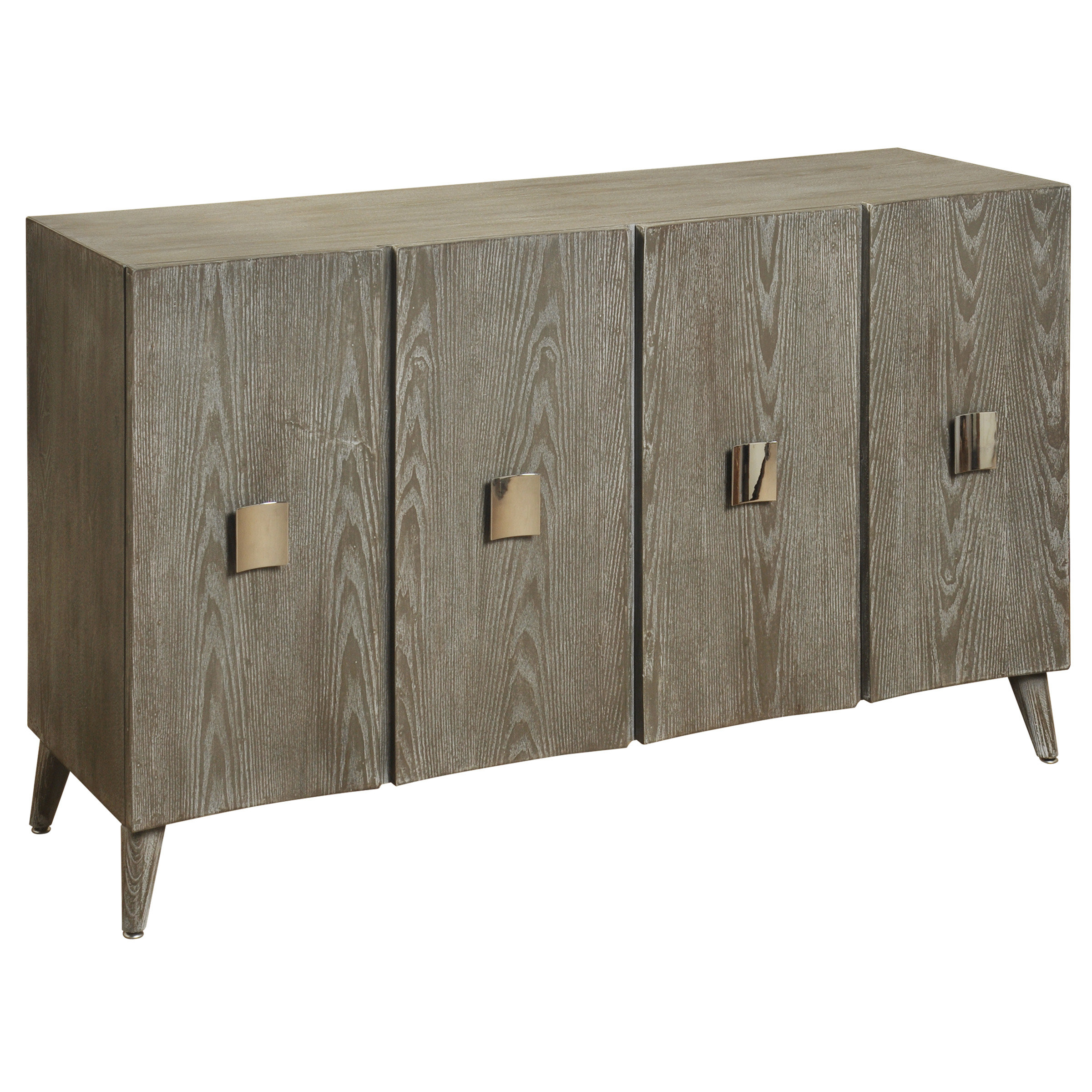 Latest Steinhatchee Reclaimed Pine 4 Door Sideboards For Elyza 4 Door Credenza (View 6 of 20)