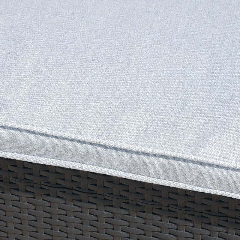 Latest Yoselin Patio Sofa With Cushions Inside Yoselin Patio Sofas With Cushions (View 7 of 20)