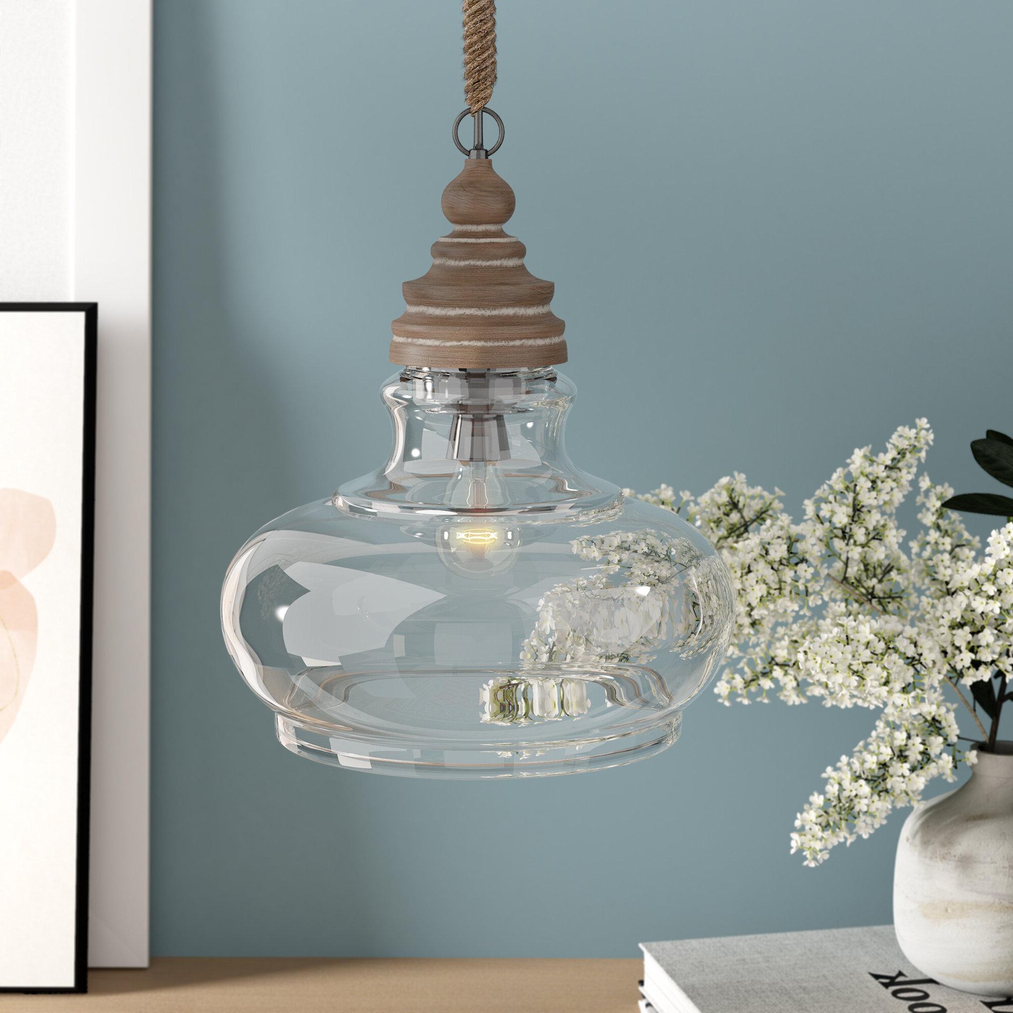 Laurel Foundry Modern Farmhouse Maelle 1 Light Single Bell Pendant Within 2019 Carey 1 Light Single Bell Pendants (View 10 of 20)
