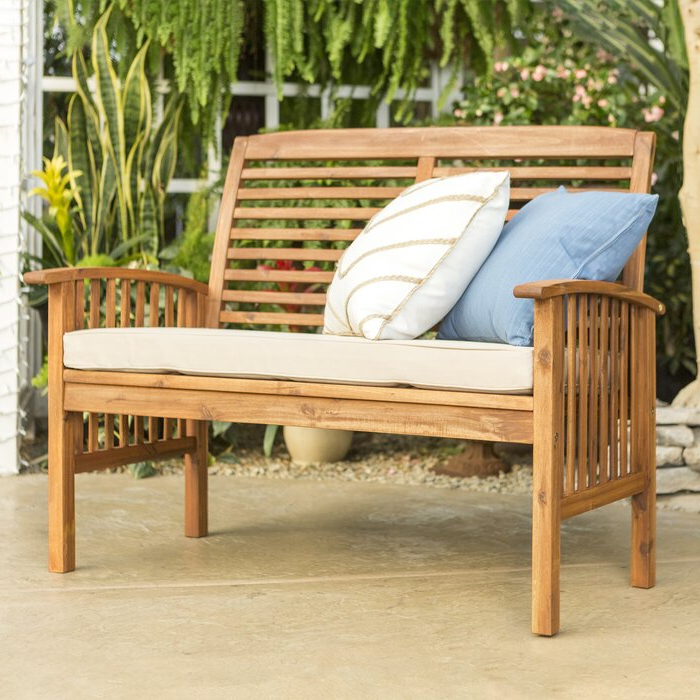Featured Photo of Laverton Loveseats With Cushions