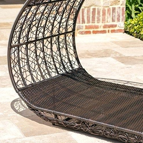 Lavina Outdoor Patio Daybeds With Cushions With Famous Outdoor Wicker Daybed – Hundredsunnies (View 13 of 20)