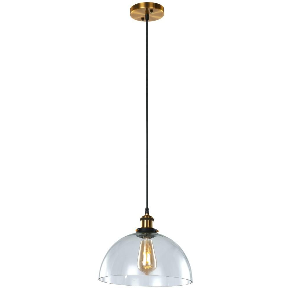 Ledpax Technology Winfield 1 Light Bronze Pendant Lpgdp1 With Regard To Fashionable Devereaux 1 Light Single Globe Pendants (View 11 of 20)