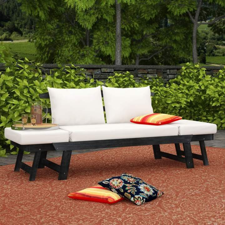 Leiston Round Patio Daybeds With Cushions In Most Recent Heritage Whitely Patio Daybed With Cushions (Gallery 17 of 20)