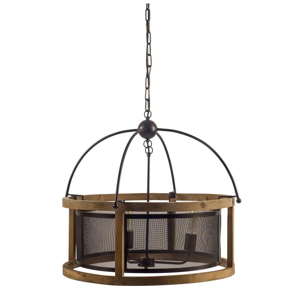Leiters 3 Light Lantern Geometric Pendants In Most Popular Stidham 3 Light Lantern Drum Pendant (View 16 of 20)