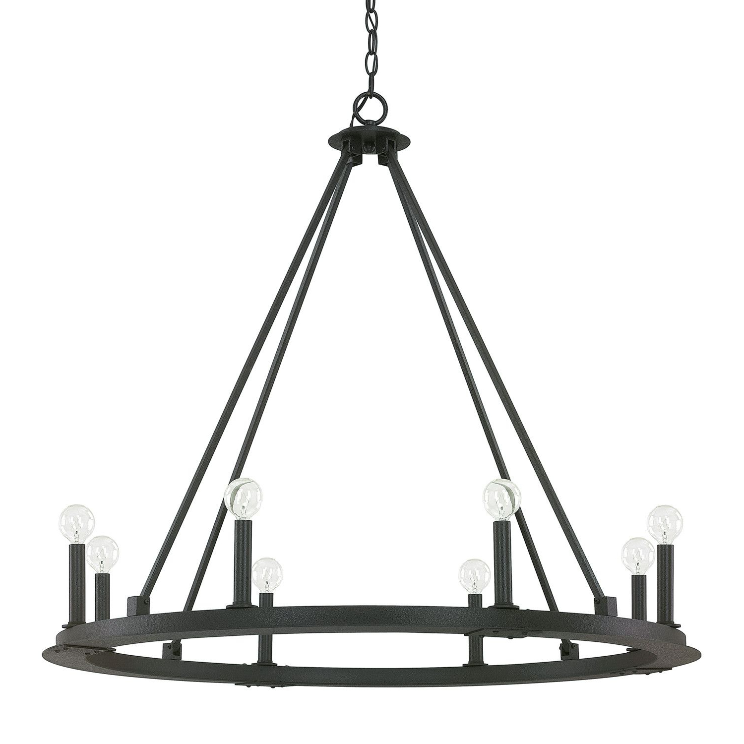 Lighting With Regard To Trendy Shayla 12 Light Wagon Wheel Chandeliers (View 6 of 20)