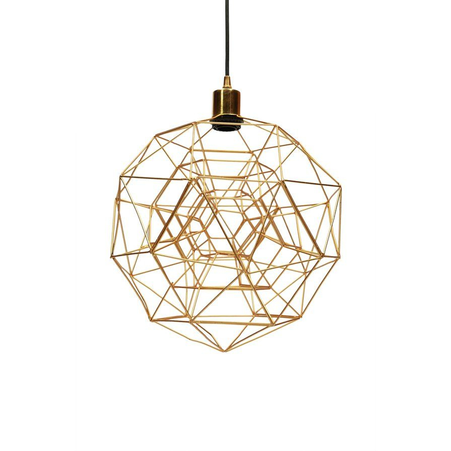 Lighting With Regard To Well Liked Hydetown 1 Light Single Geometric Pendants (View 16 of 20)