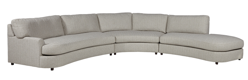 Lillian August Modern Living With Regard To Paloma Sectionals With Cushions (View 11 of 20)