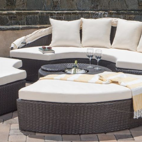 List Of Pinterest Patio Daybeds Images & Patio Daybeds Pictures With Regard To Most Current Keiran Patio Daybeds With Cushions (View 14 of 20)