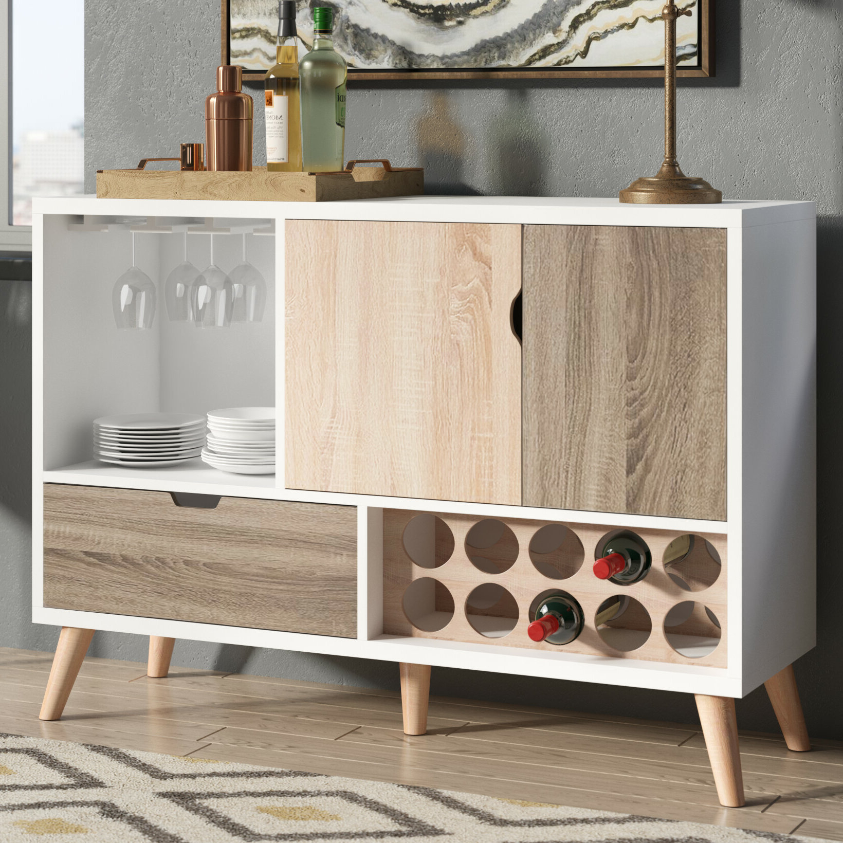 Longley Sideboards With Regard To Most Recently Released Mercury Row Sideboards & Buffets You'll Love In  (View 13 of 20)