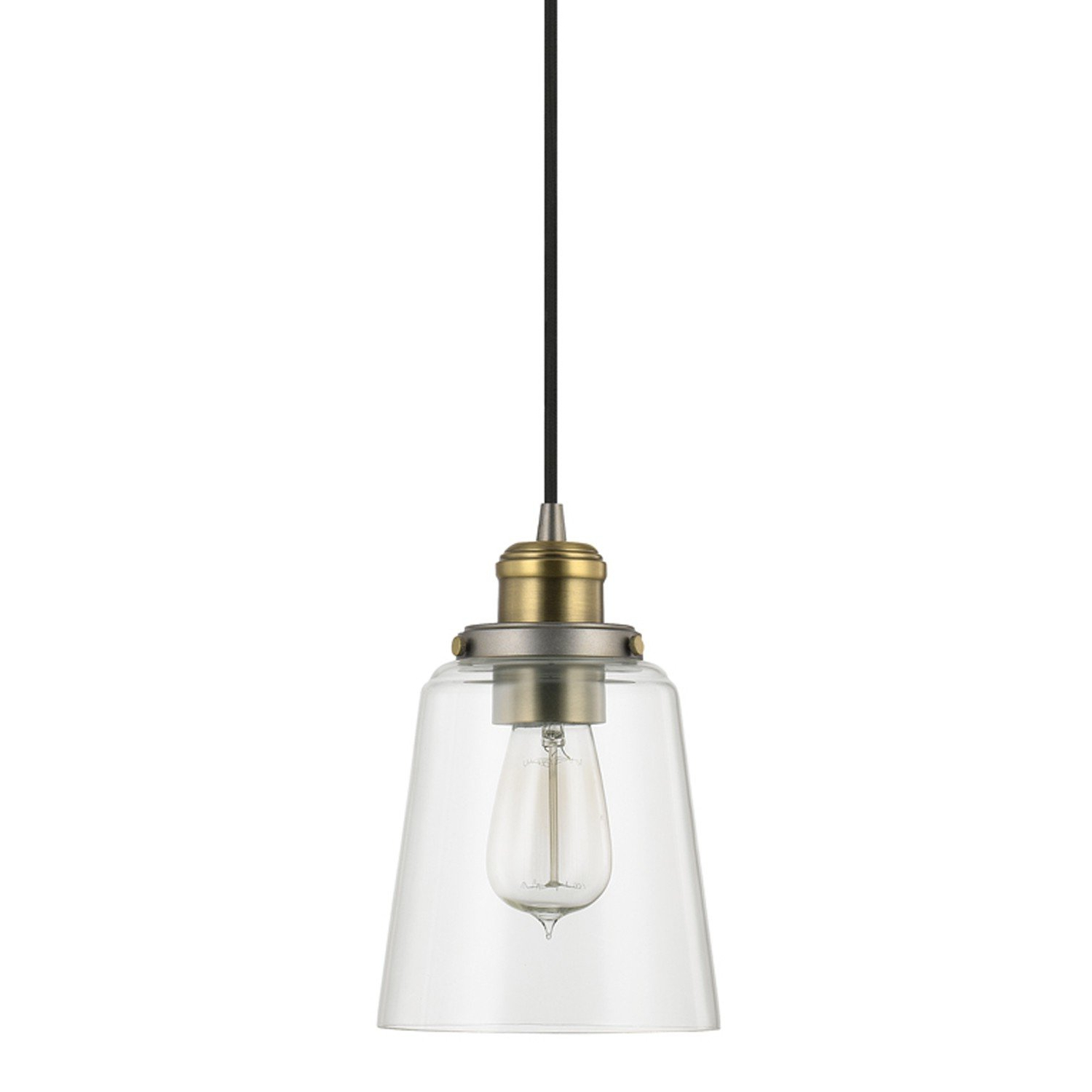 Lorenco 1 Light Single Bell Pendant Pertaining To Widely Used Sue 1 Light Single Jar Pendants (View 8 of 20)