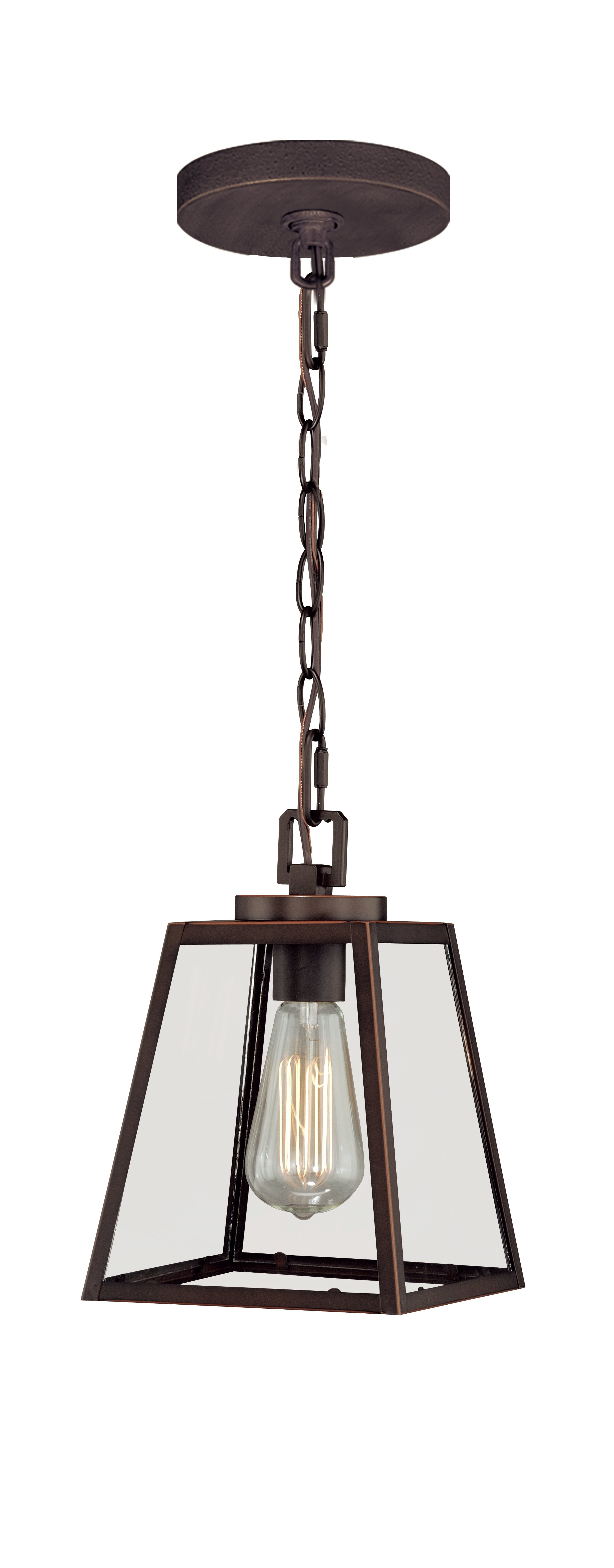 Louanne 1 Light Lantern Geometric Pendants With Fashionable Louanne 1 Light Lantern Geometric Pendant (View 1 of 20)
