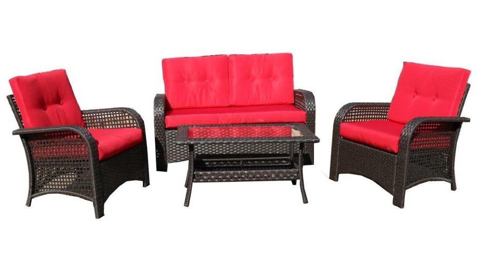 Loveseat F Belvedere Piece Table Wicker Furniture Slipcovers For Favorite Kentwood Resin Wicker Loveseats (View 12 of 20)
