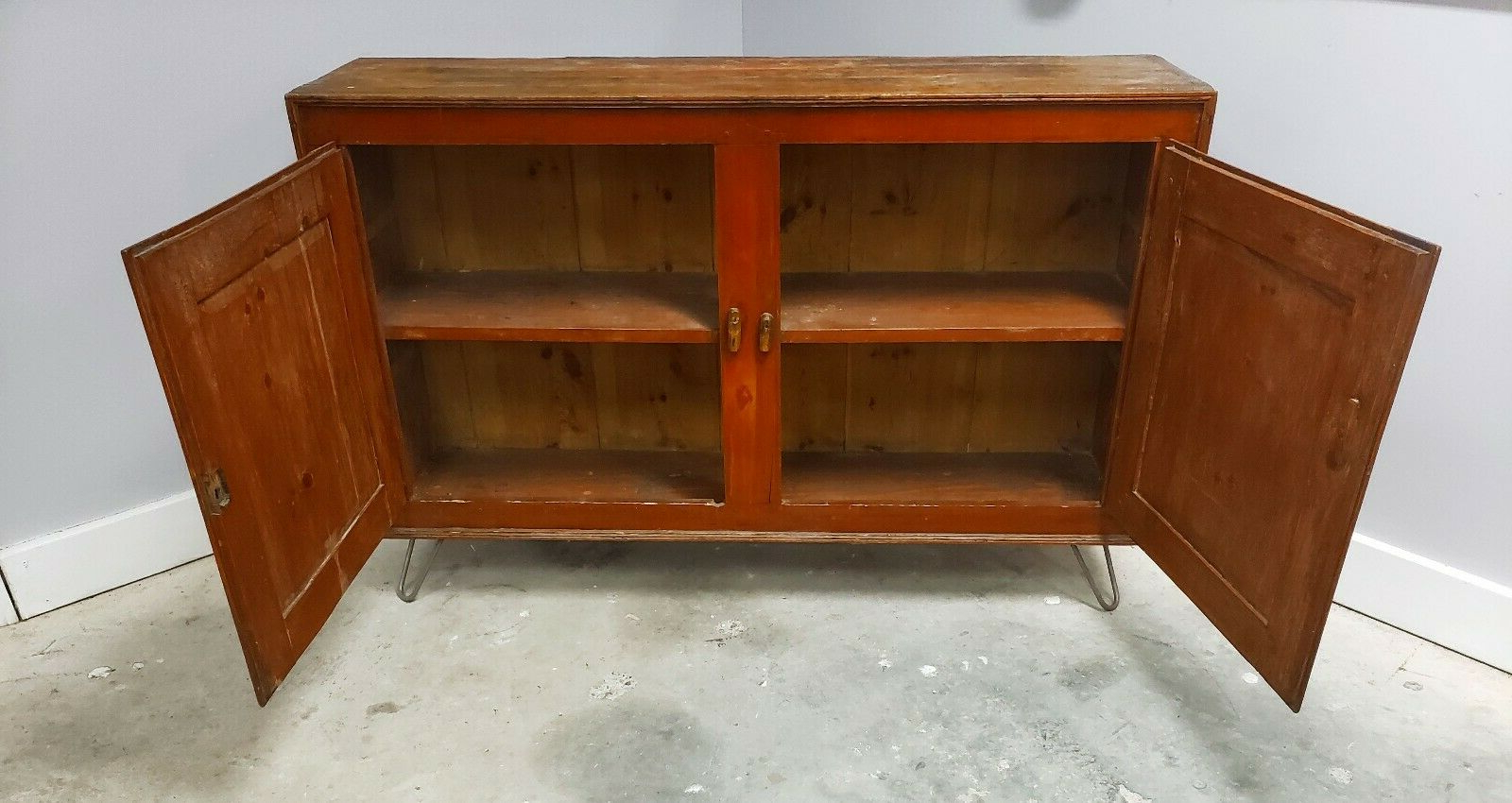 Lowrey Credenzas Pertaining To Most Popular Antique 18Th Century Commode Sideboard Credenza Rustic Cabinet (View 13 of 20)