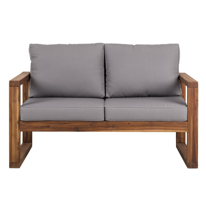 Lyall Loveseats With Cushion Throughout Widely Used Lyall Loveseat With Cushion (View 12 of 20)