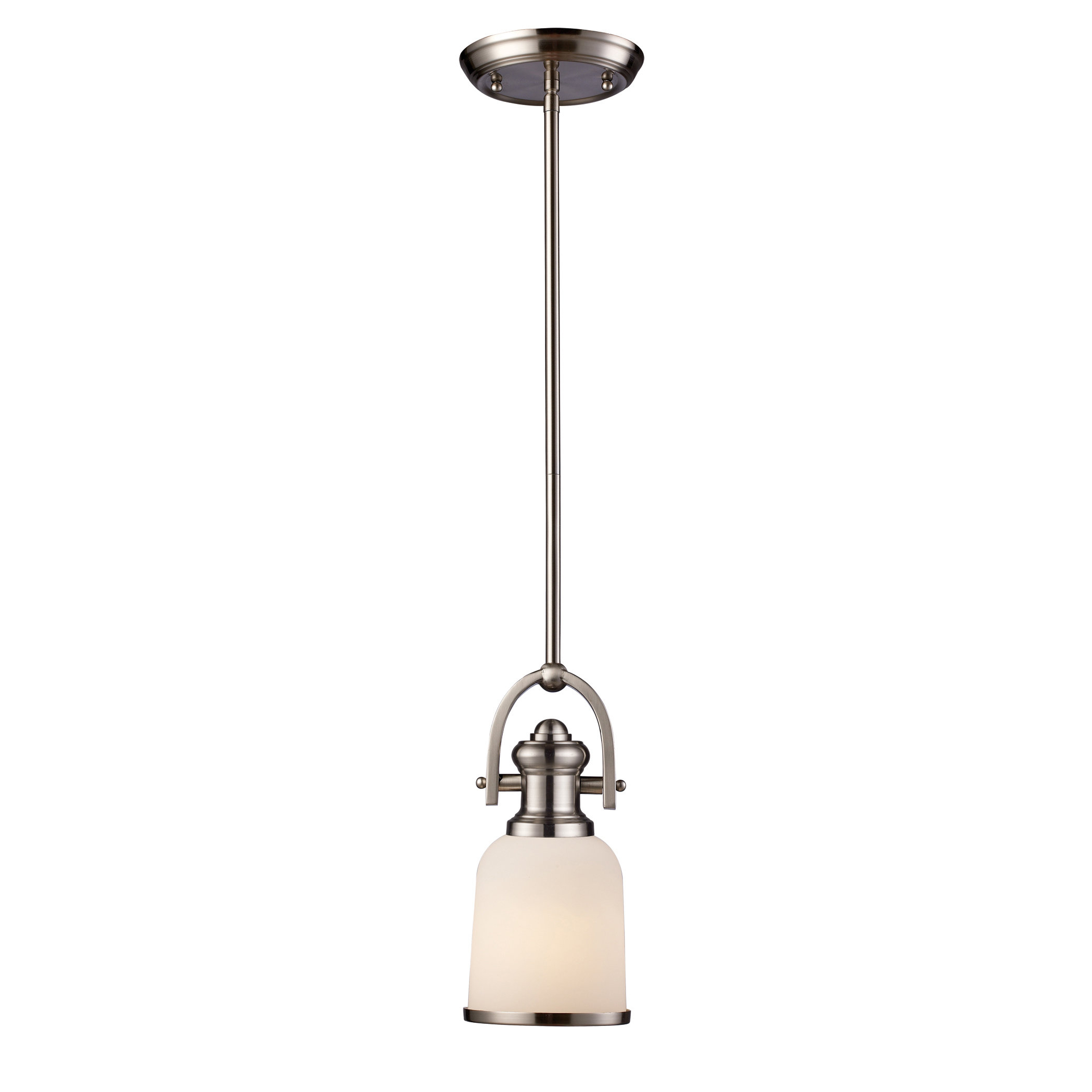 Macon 1 Light Single Dome Pendants Throughout Popular Boornazian 1 Light Single Bell Pendant (View 8 of 20)