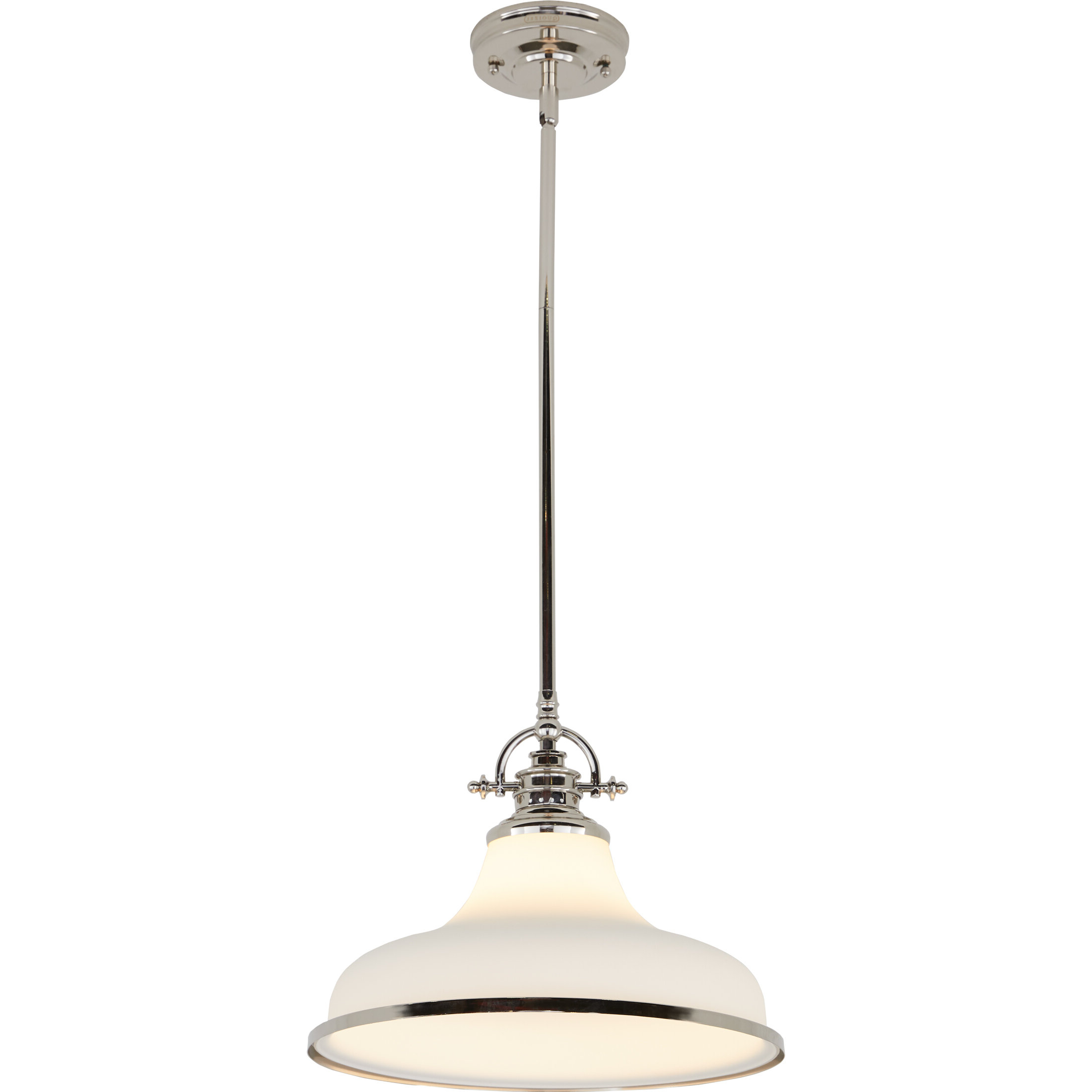 Macon 1 Light Single Dome Pendants Within Best And Newest Meghan 1 Light Dome Pendant (View 11 of 20)
