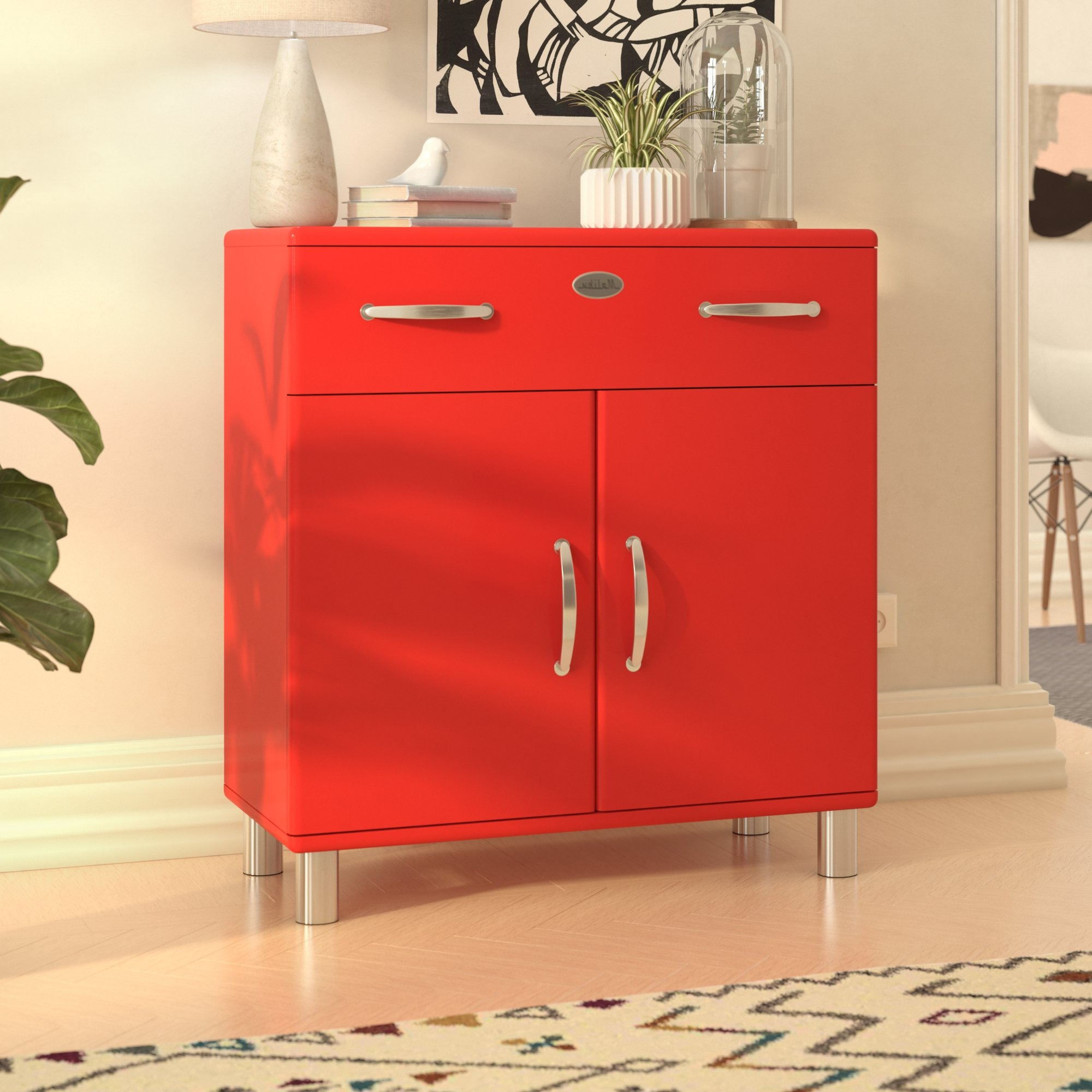 Malibu 2 Door 1 Drawer Sideboards For Well Known Malibu 2 Door 1 Drawer Combi Chest (View 5 of 20)