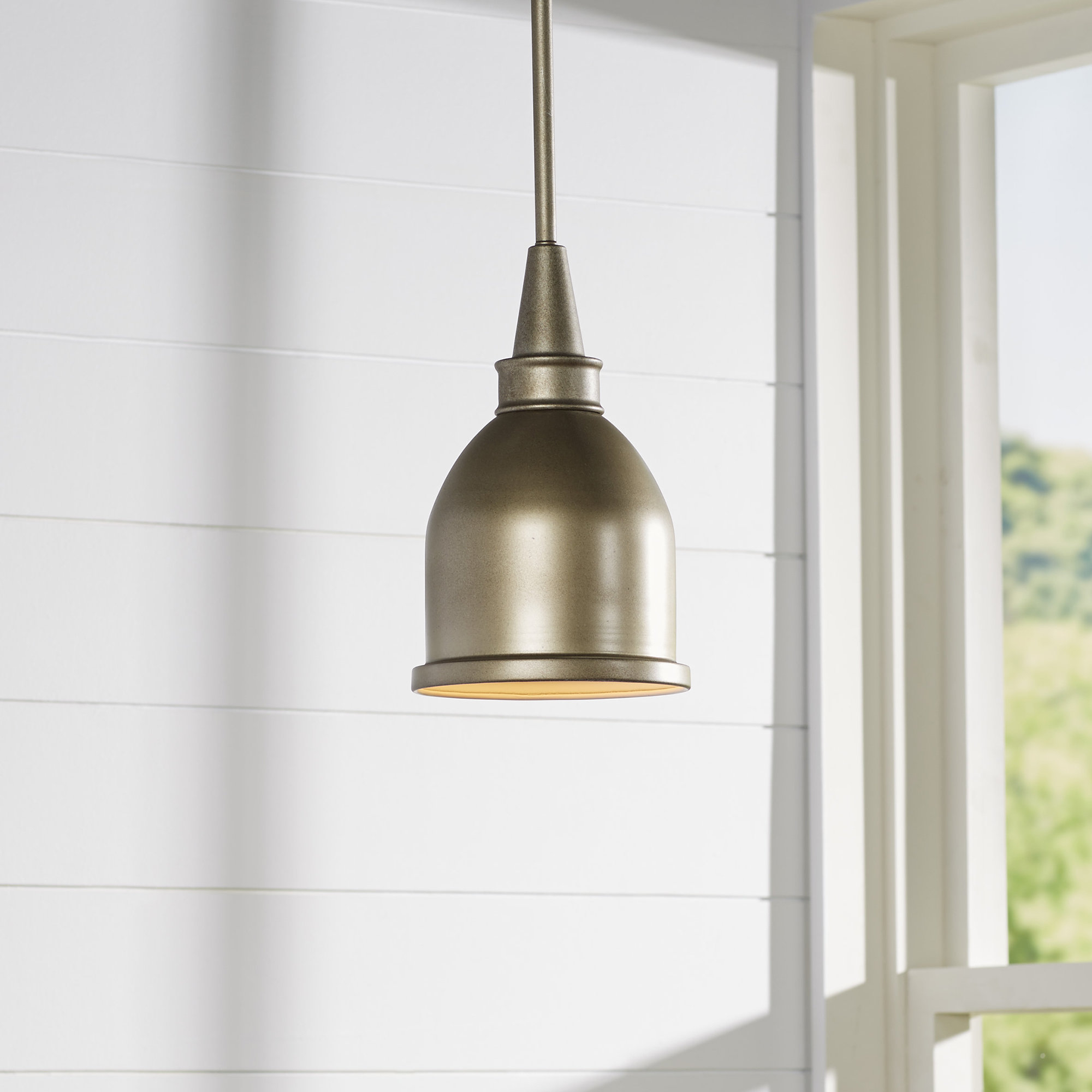 Manston 1 Light Single Bell Pendant With Regard To Recent Bundaberg 1 Light Single Bell Pendants (View 13 of 20)