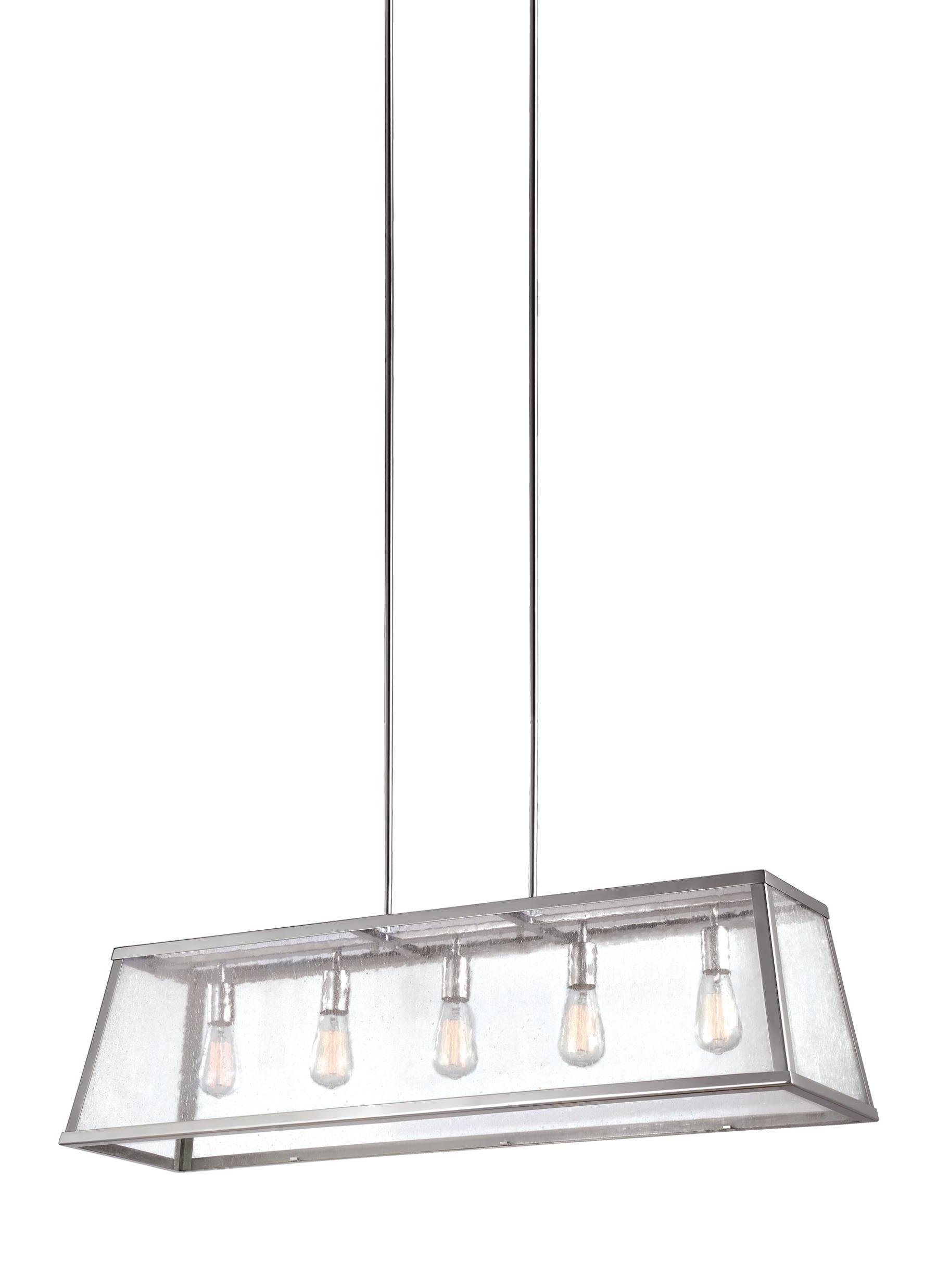 Marlowe 5 Light Kitchen Island Linear Pendant With Most Up To Date Hinerman 5 Light Kitchen Island Pendants (Gallery 17 of 20)