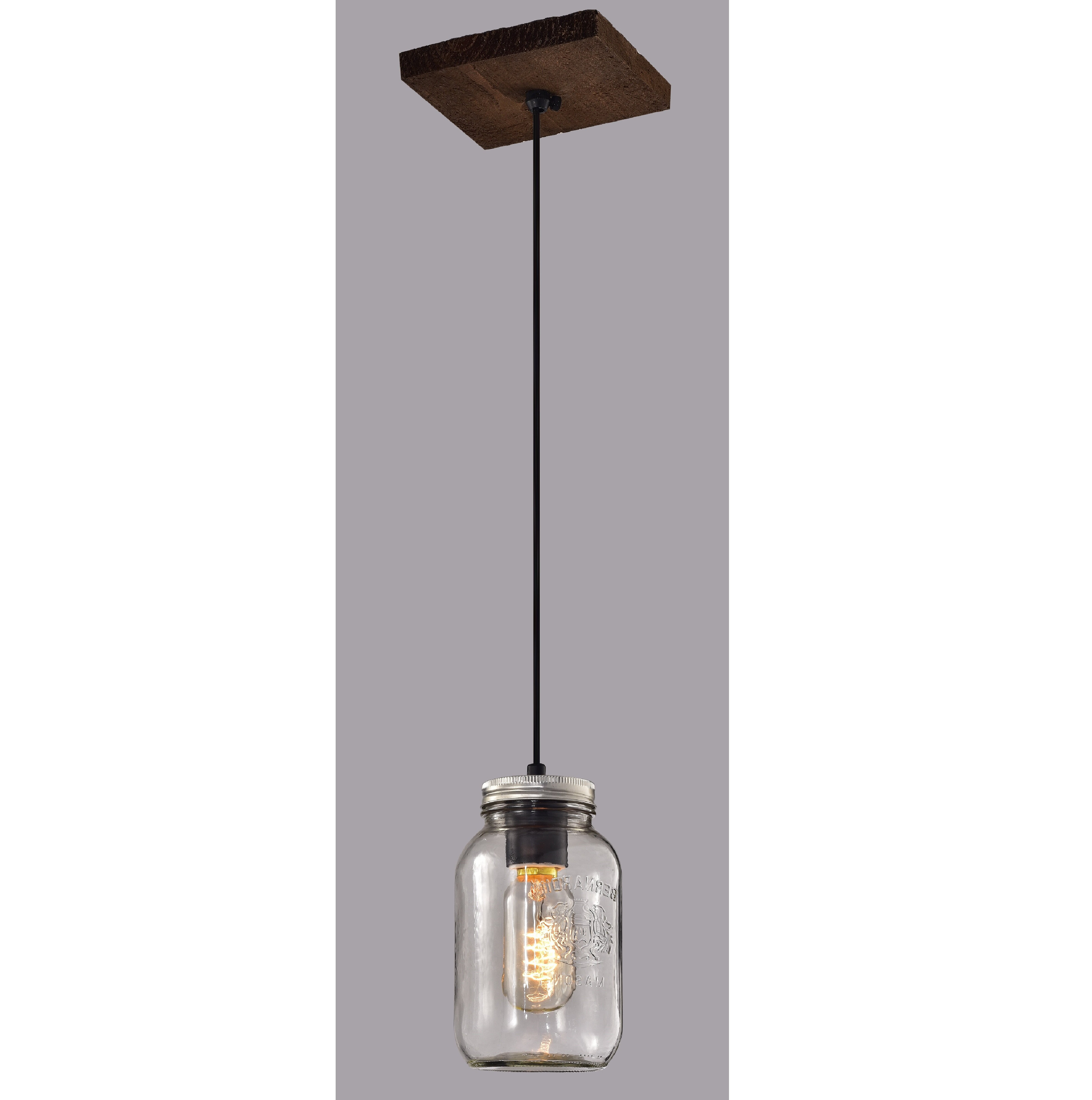 Mason Jar Pendant Light You'll Love In  (View 9 of 20)