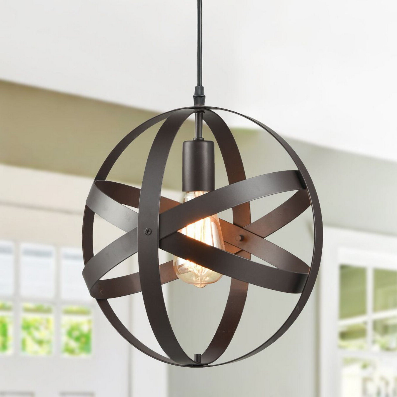 Mattie 1 Light Single Globe Pendant Pertaining To Well Known Kilby 1 Light Pendants (Gallery 3 of 20)