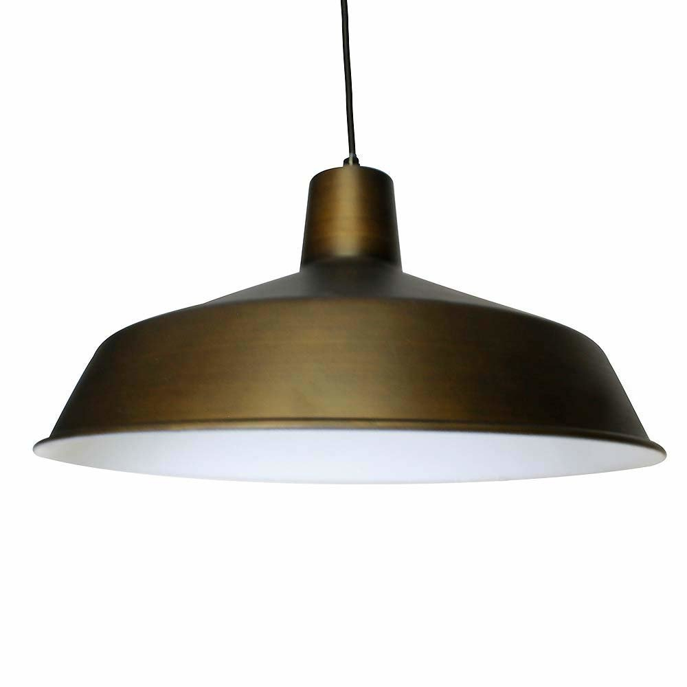 Mcintire Vintage 1 Light Single Dome Pendant Throughout Well Known Gattis 1 Light Dome Pendants (View 10 of 20)