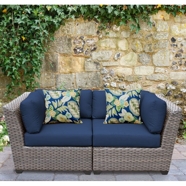 Meeks Patio Sofas With Cushions Inside Current Meeks Patio Sofa With Cushions (Gallery 2 of 20)