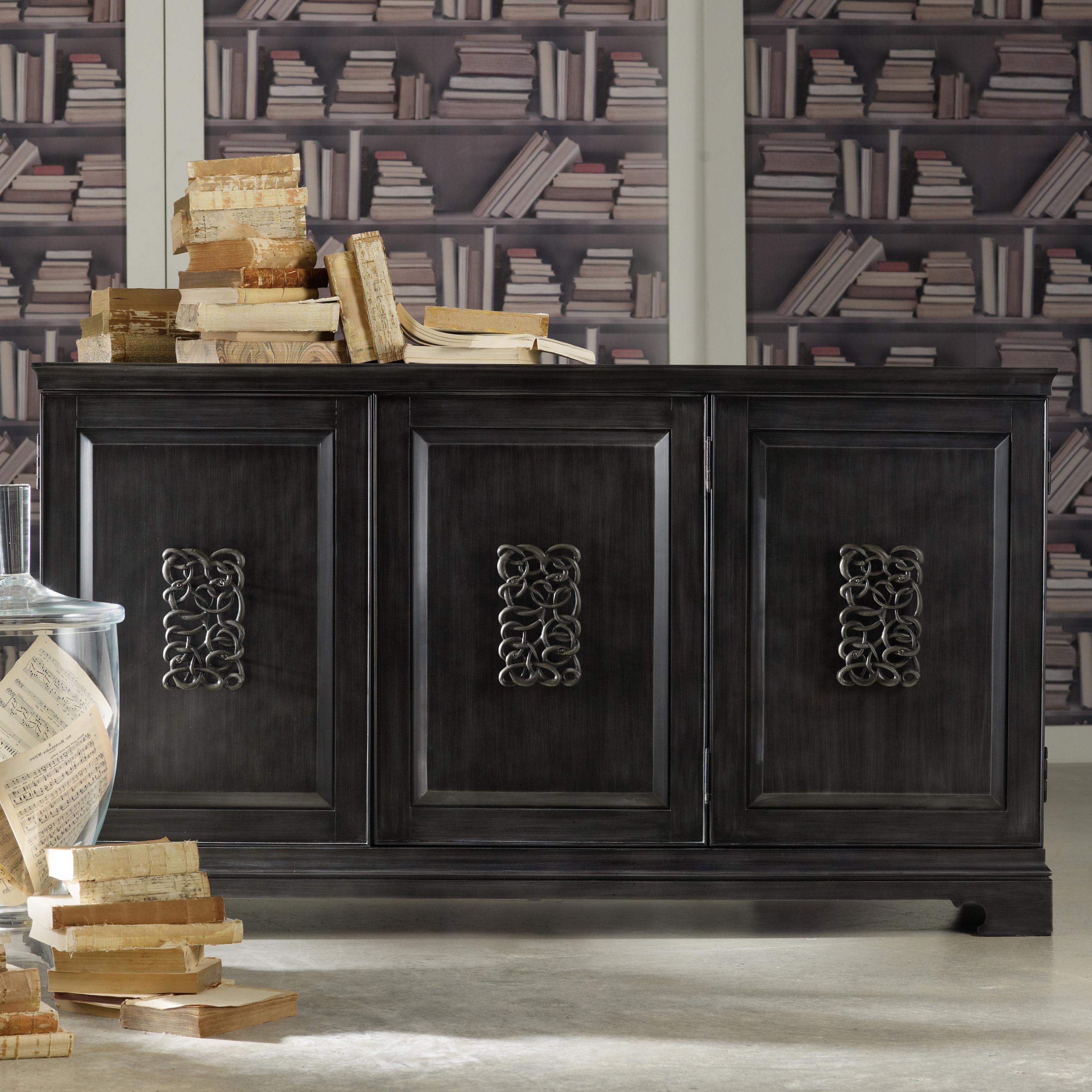 Melange Brockton Sideboards With Most Recently Released Mélange Brockton Credenzahooker Furniture (Gallery 1 of 20)