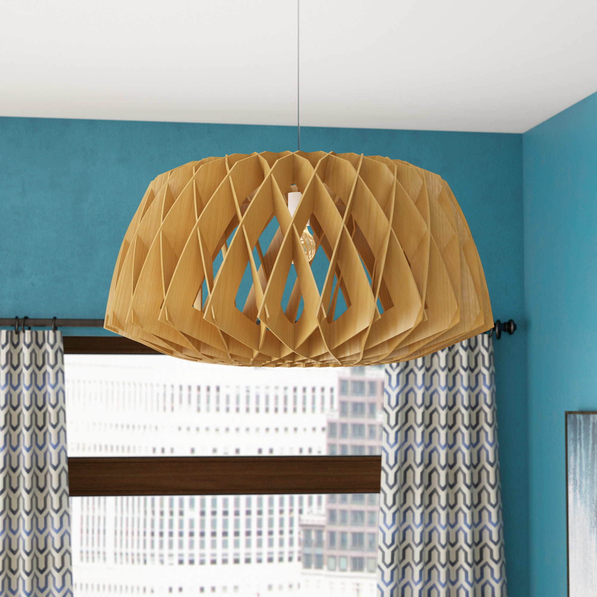 Melora 1 Light Single Geometric Pendants Pertaining To Well Known Melora 1 Light Single Geometric Pendant (Gallery 1 of 20)