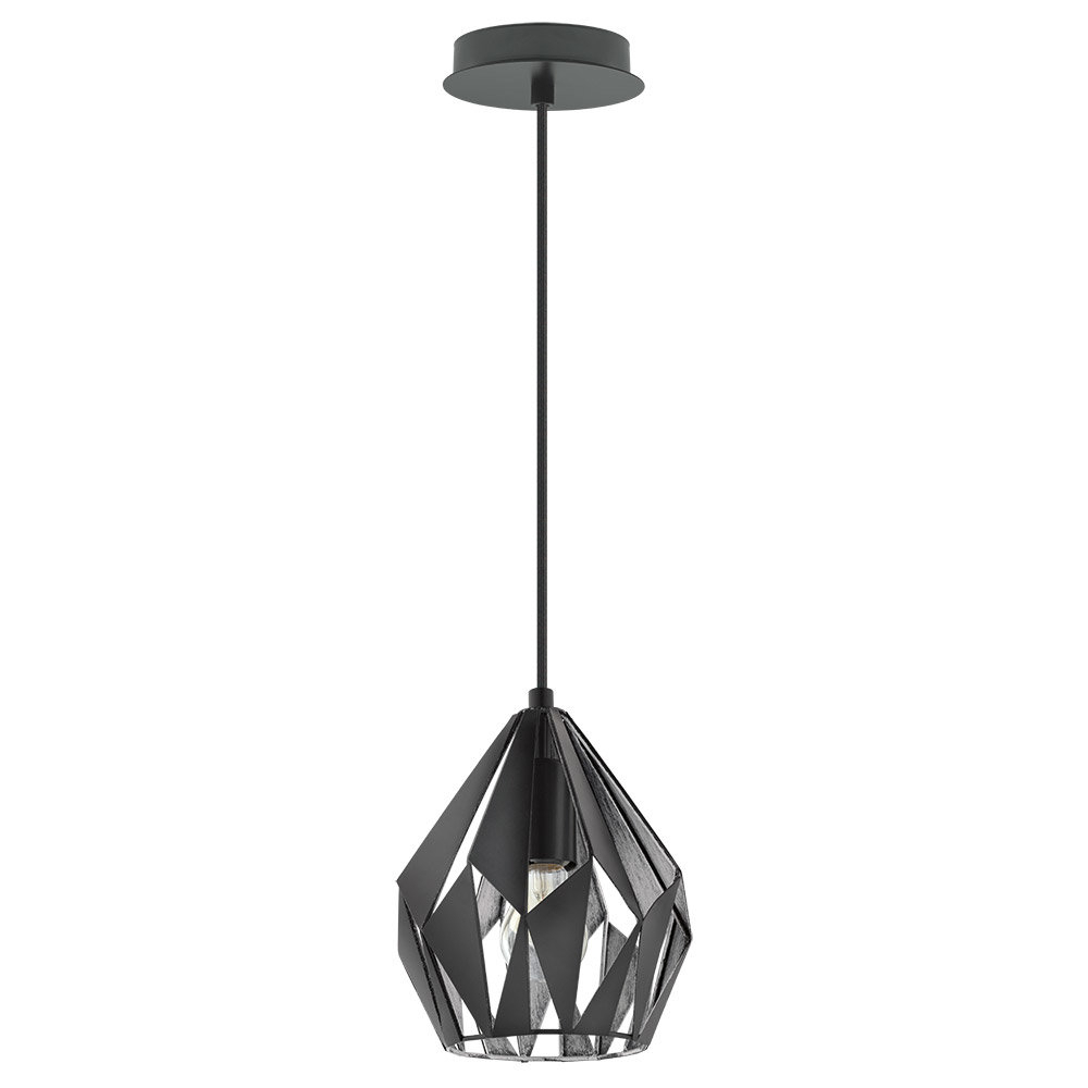 Melora 1 Light Single Geometric Pendants Within Well Known Wade Logan Baranowski 1 Light Single Geometric Pendant (View 8 of 20)