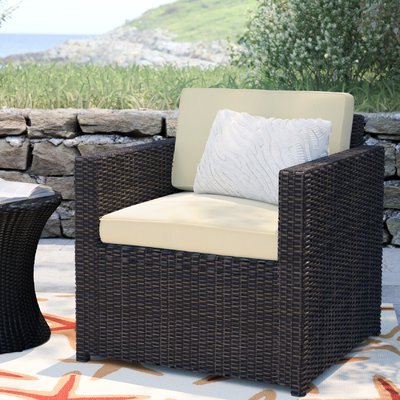 Mercury Row Belton Outdoor Wicker Deep Seating Patio Chair Throughout Most Current Belton Patio Sofas With Cushions (Gallery 15 of 20)
