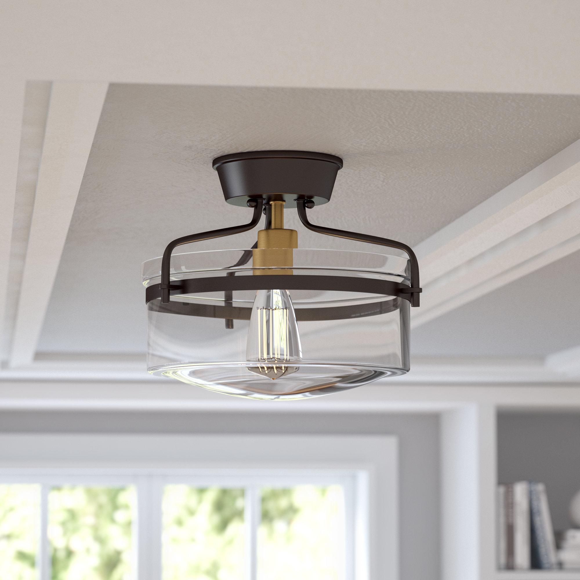 Mercury Row Bundaberg 1 Light Single Bell Pendant & Reviews Inside Newest Bundaberg 1 Light Single Bell Pendants (View 14 of 20)