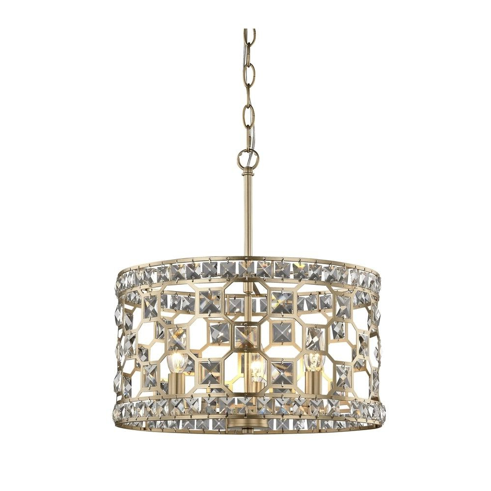 "Metropolitan N6775 293 Coronade 5 Light 22"" Wide Drum With Well Known Hermione 5 Light Drum Chandeliers (Gallery 13 of 20)"