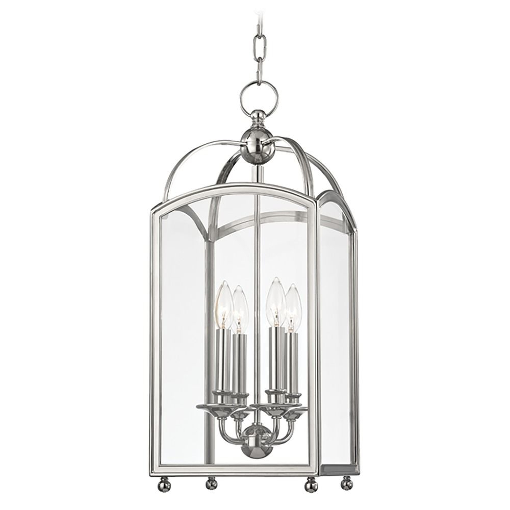 Millbrook 5 Light Shaded Chandeliers In Fashionable Millbrook 4 Light Mini Pendant Light Square Shade – Polished Nickel At  Destination Lighting (Gallery 10 of 20)