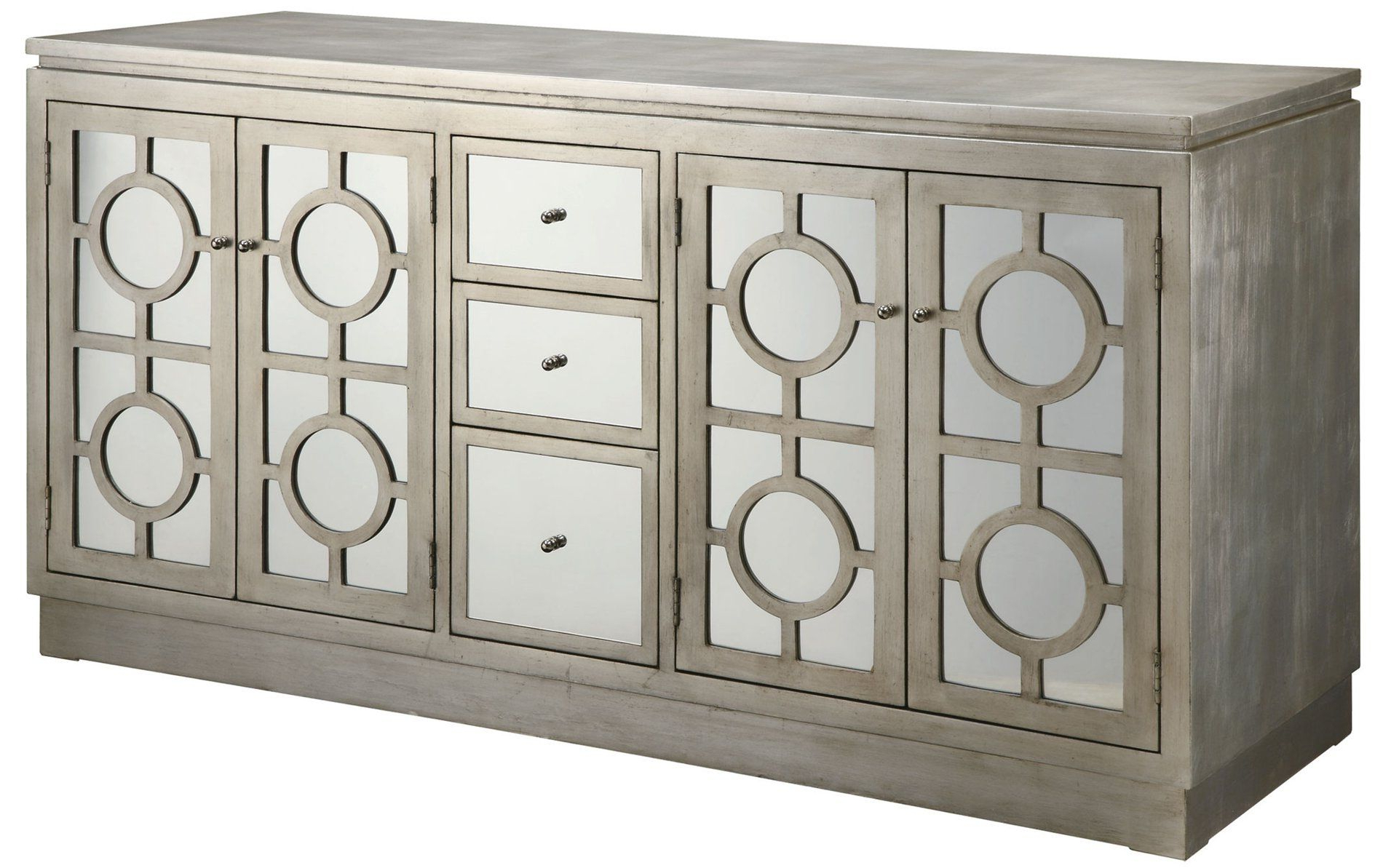 Minor Details Home: Crestview Collection Cvfxr758B Circles Throughout 2019 Aberdeen Westin Sideboards (View 10 of 20)