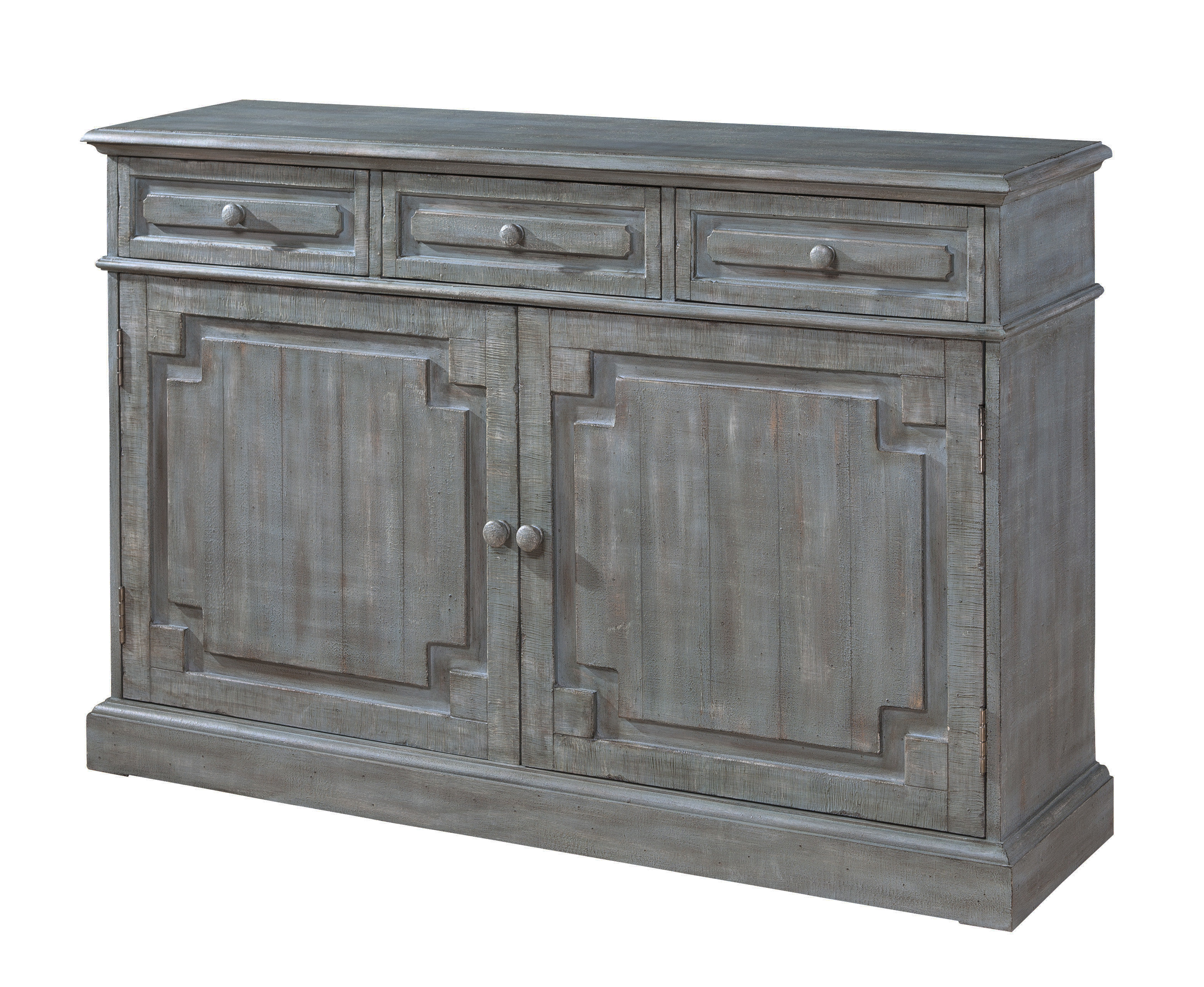 Mistana Carissa Credenza With Current Kieth 4 Door Credenzas (View 10 of 20)