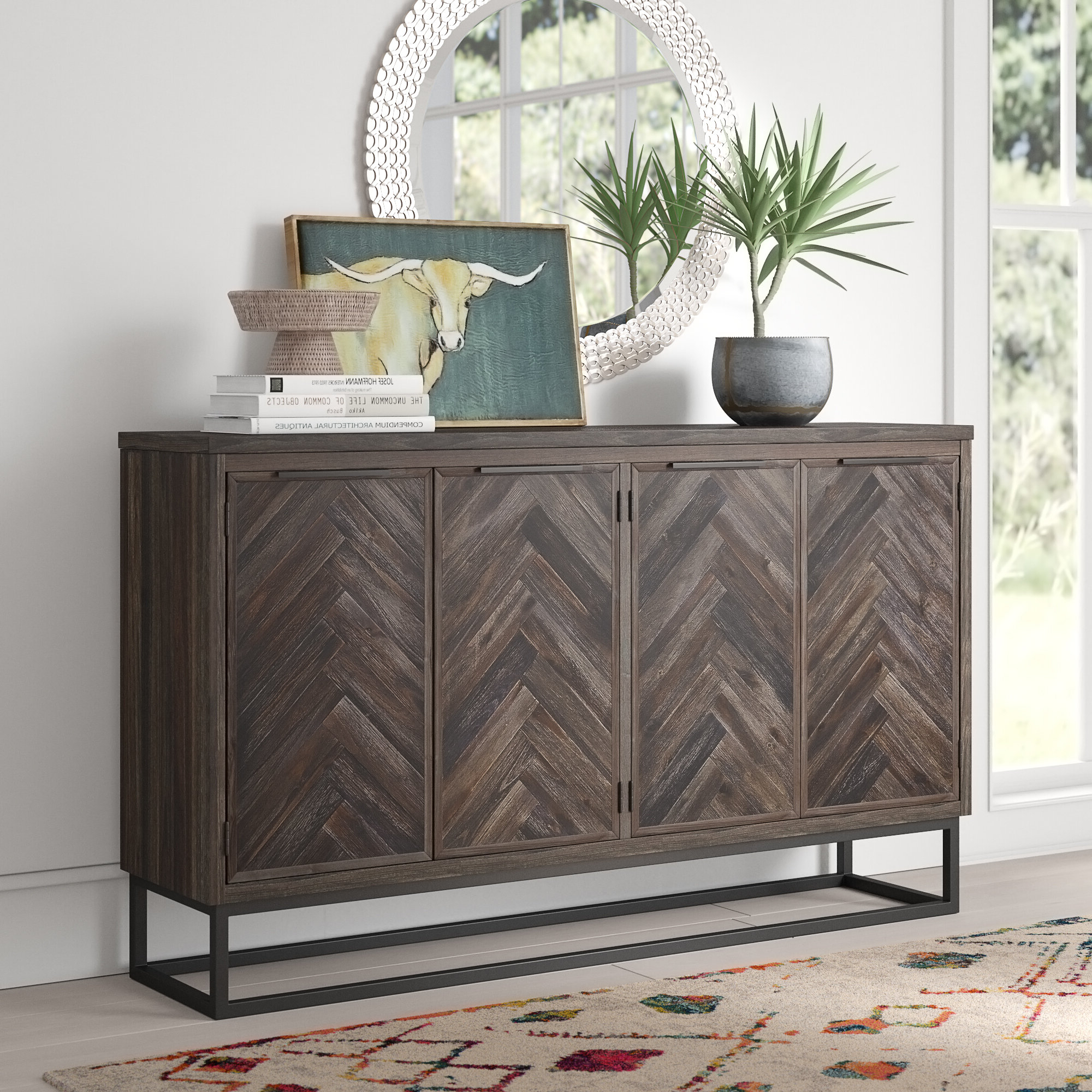 Mistana Kaelyn Credenza & Reviews (Gallery 7 of 20)
