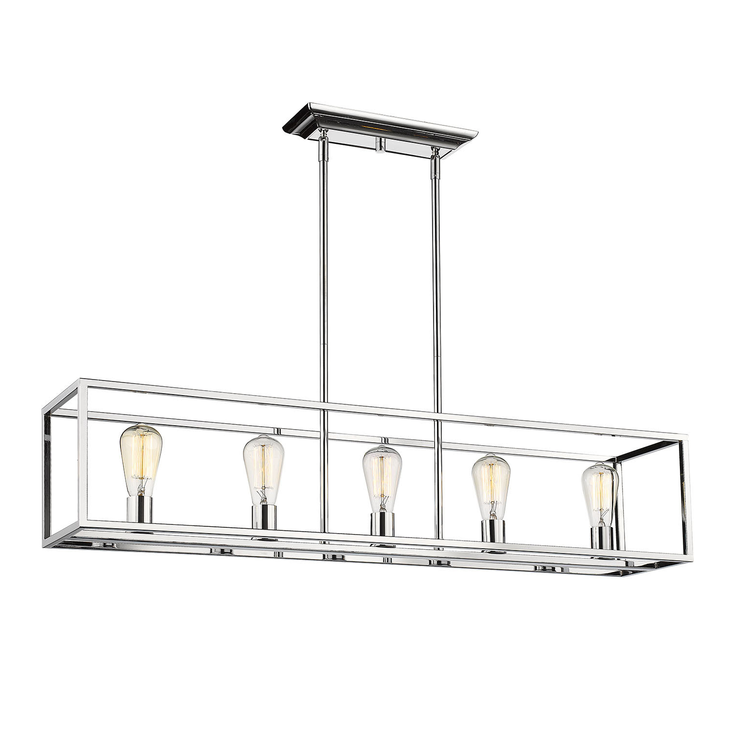 Mizer 5 Light Kitchen Island Linear Pendant Regarding Well Known Bouvet 5 Light Kitchen Island Linear Pendants (View 10 of 20)