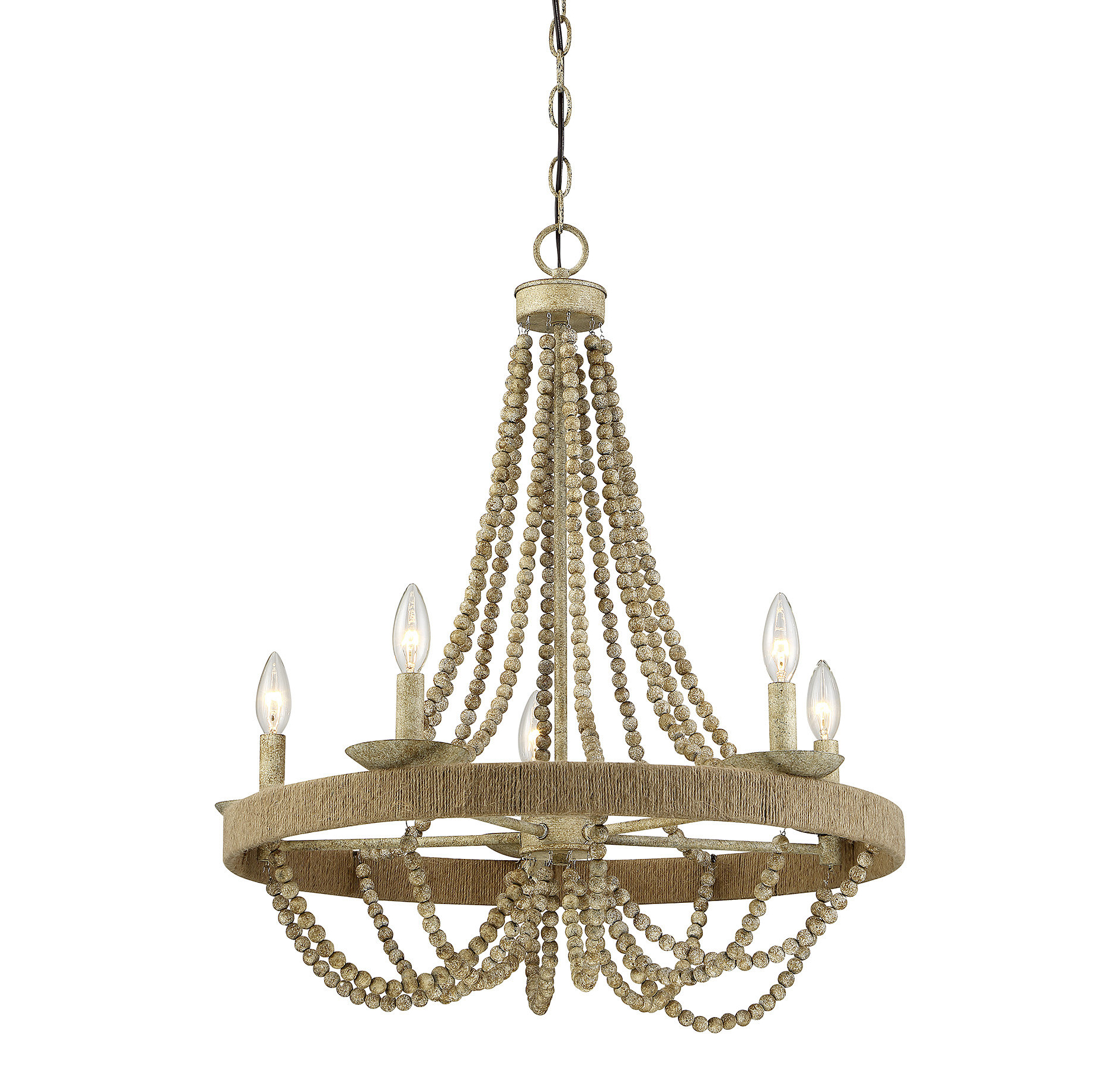 Modern Beaded Chandeliers (View 12 of 20)