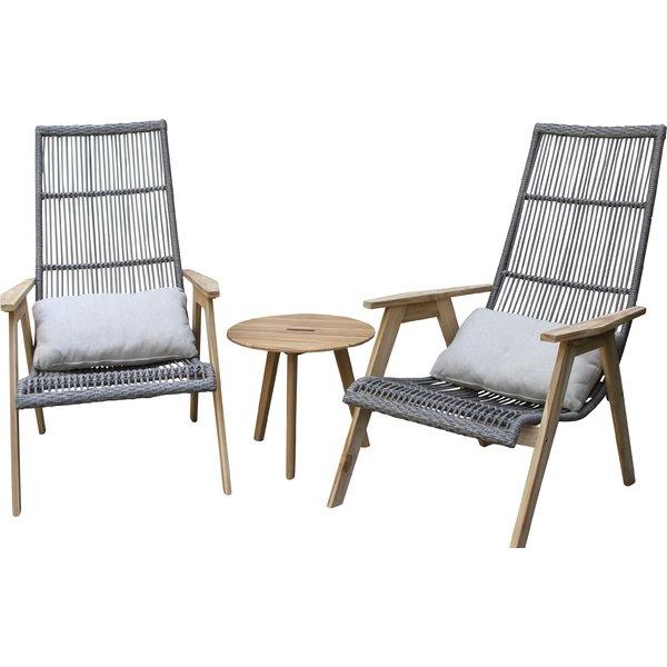 Modern & Contemporary Teak Outdoor Furniture (Gallery 13 of 20)