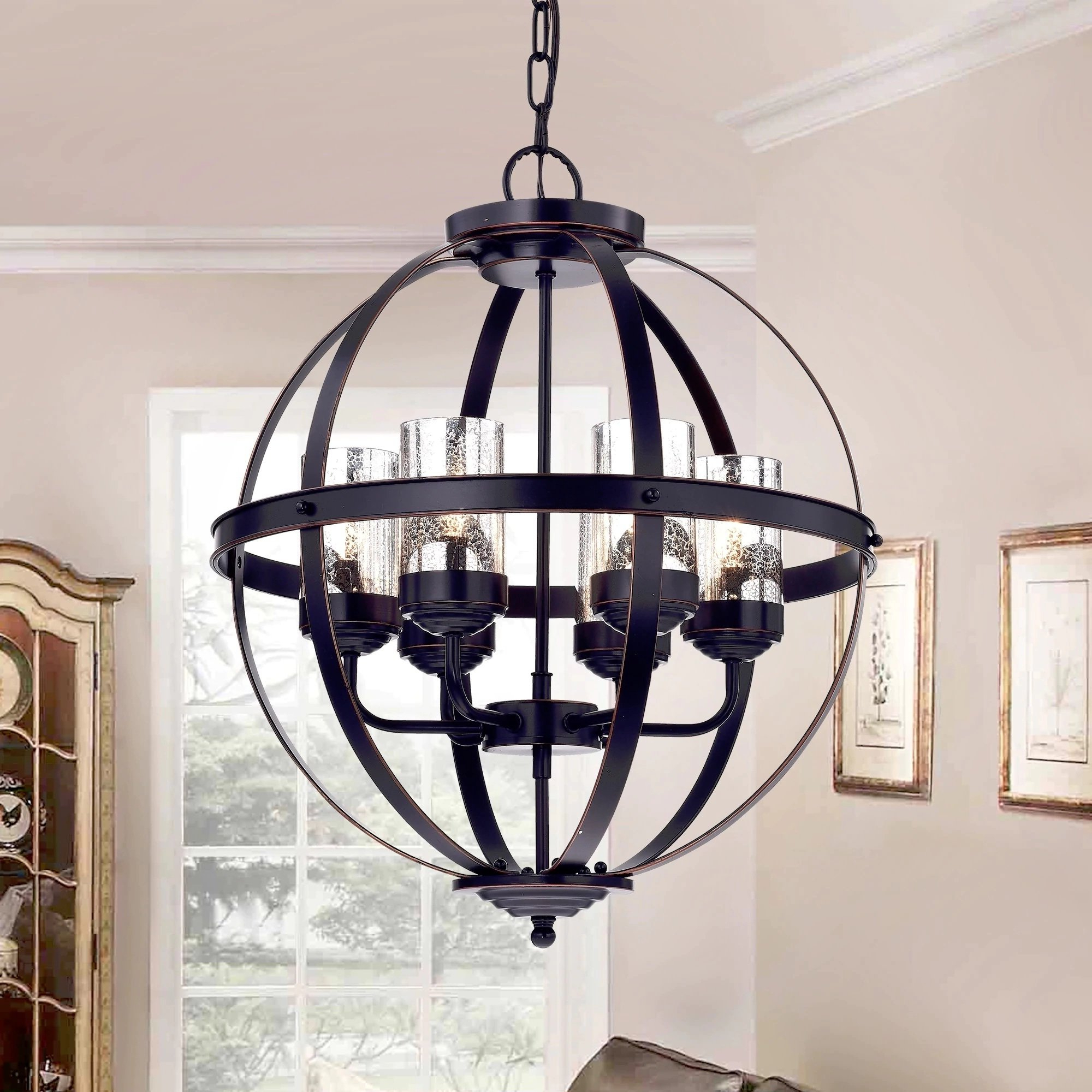 Mojica 6 Light Chandelier In 2019 Donna 6 Light Globe Chandeliers (Gallery 19 of 20)