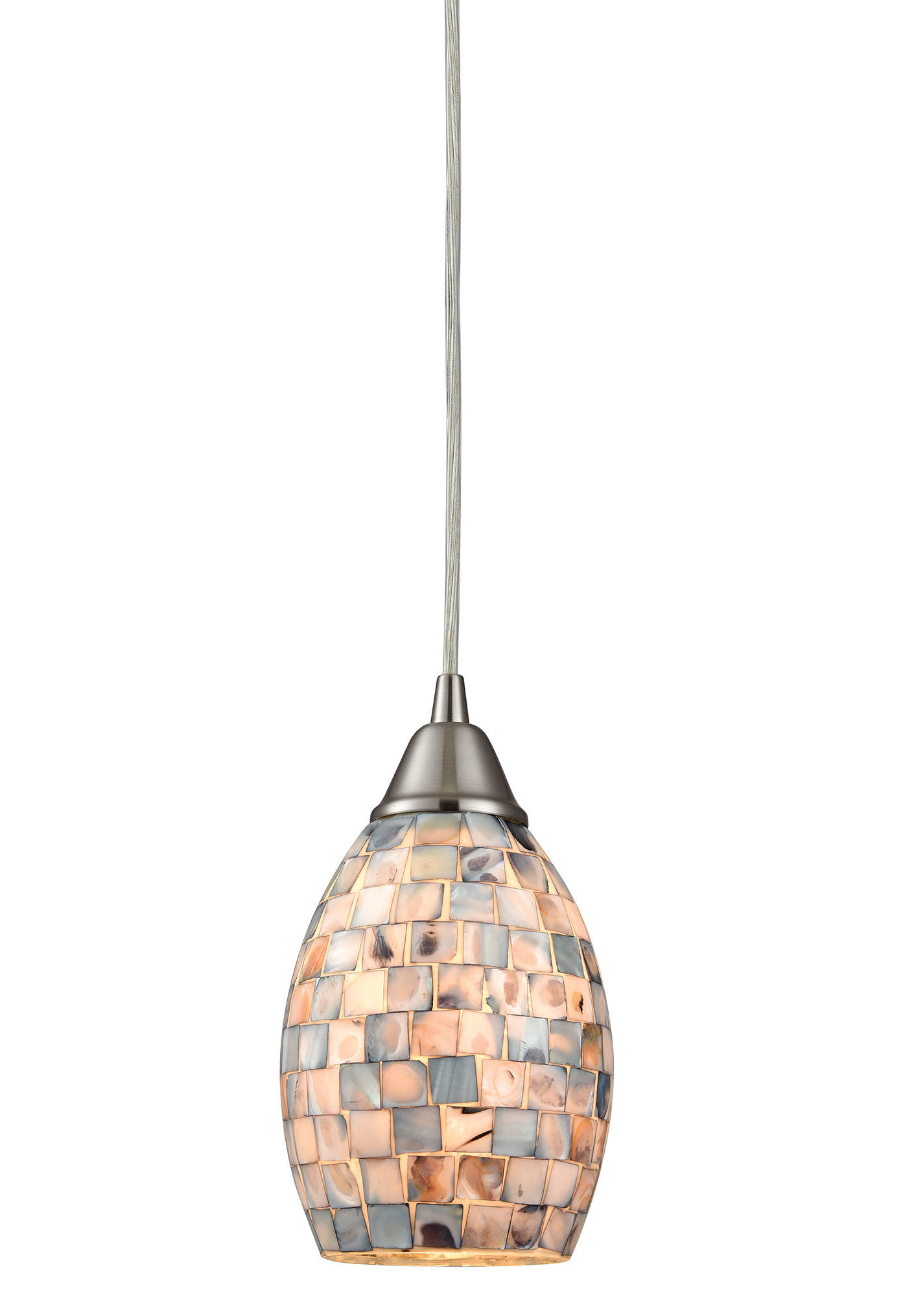 Moris 1 Light Cone Pendants In Newest Stalvey 1 Light Mini Pendant (Gallery 9 of 20)