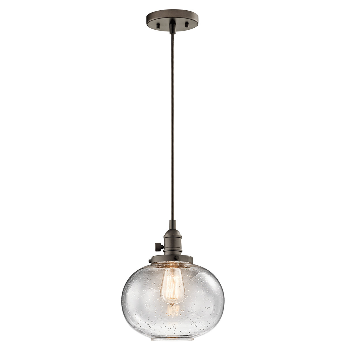 Most Current Antioch 1 Light Single Globe Pendant In Cayden 1 Light Single Globe Pendants (View 12 of 20)