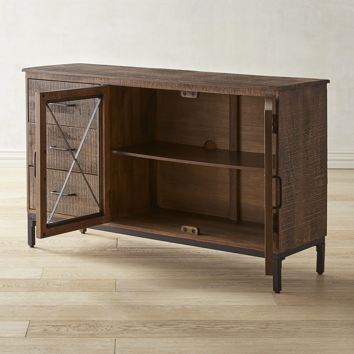 "Most Current Casolino Sideboards Pertaining To Wyatt 50"" Tv Stand Brown (View 13 of 20)"
