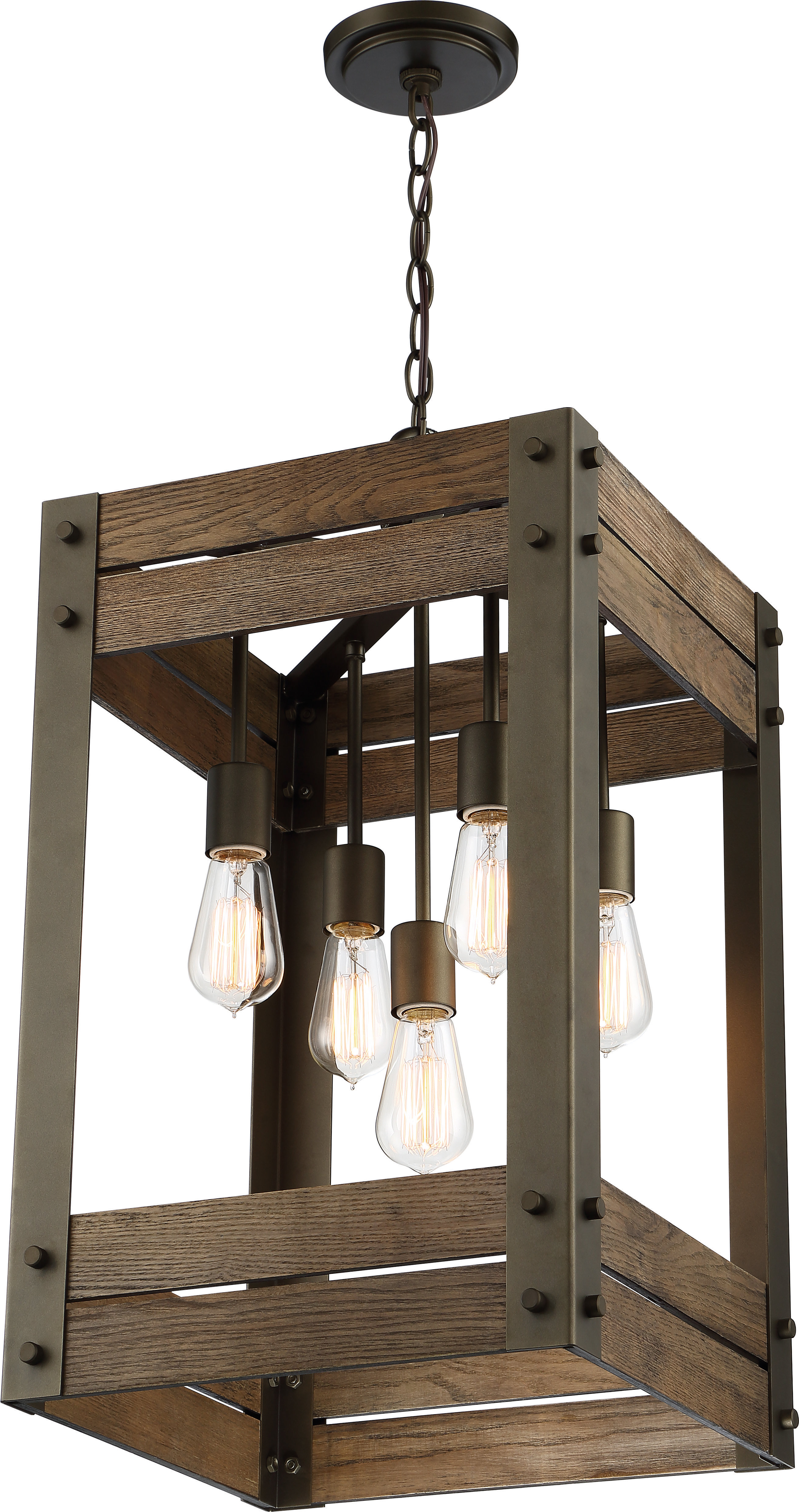 Most Current Cathey 4 Light Square/rectangle Chandelier Pertaining To Alayna 4 Light Shaded Chandeliers (Gallery 7 of 20)