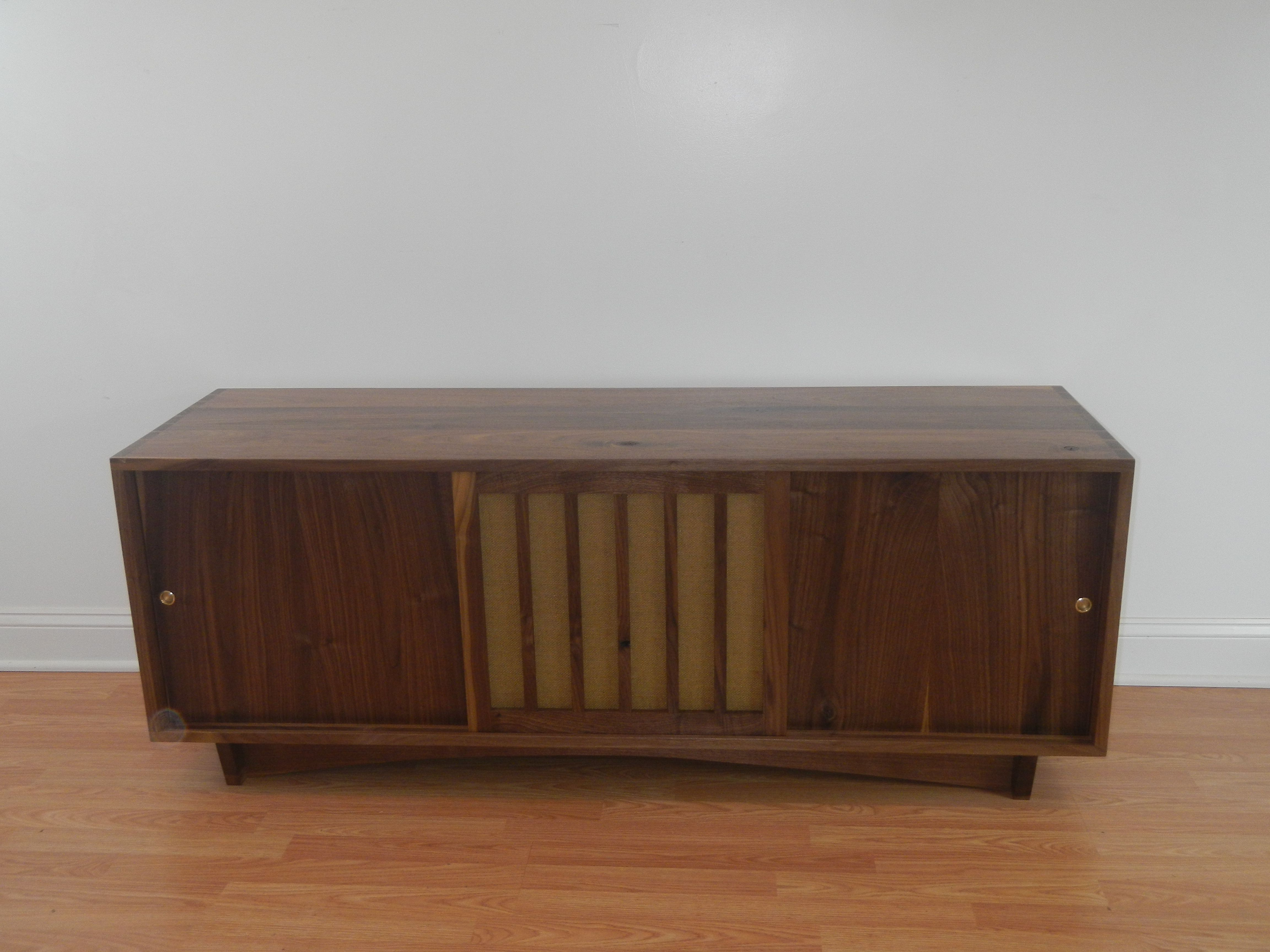 Most Current Custom Mid Century Modern/ Danish Modern Credenza/sideboard With Regard To Stephen Credenzas (View 14 of 20)